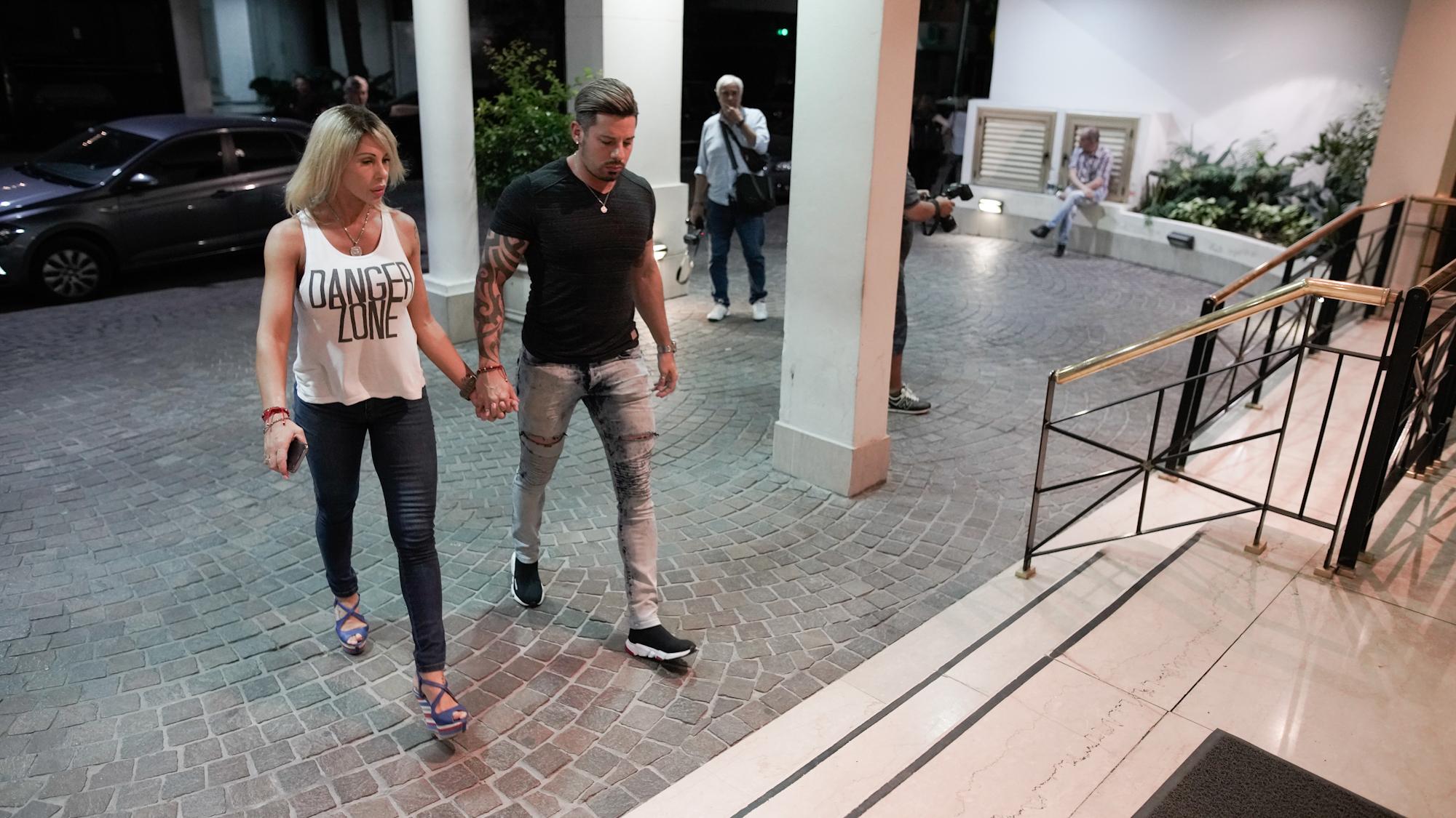 Mónica Farro y su marido, Leandro Herrera