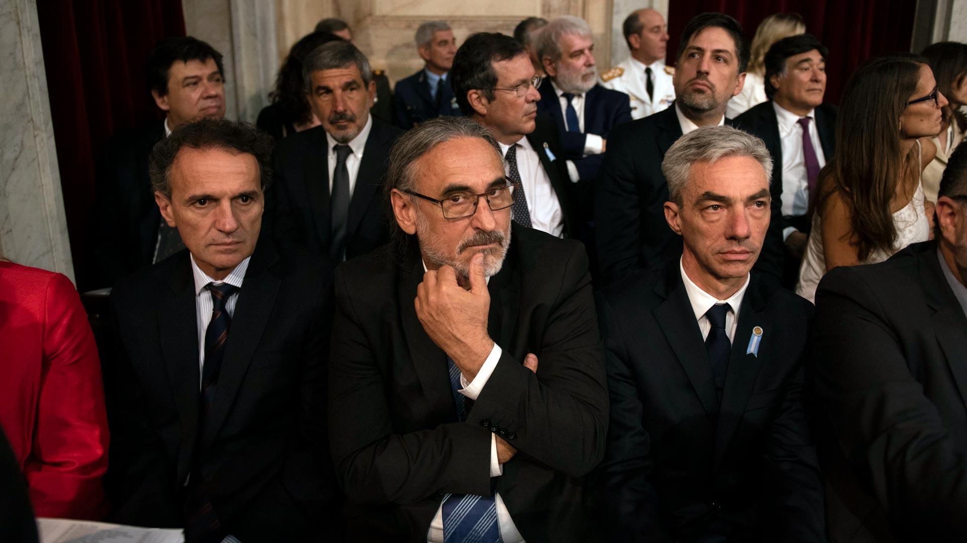 Los ministros que integran el gabinete nacional