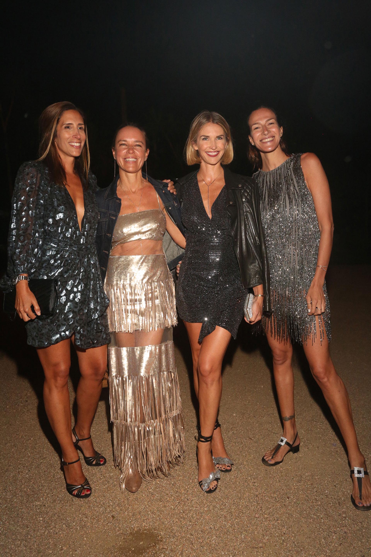 Florencia Perotti, Josie Bridge, Julieta Spina y Dolores Trull