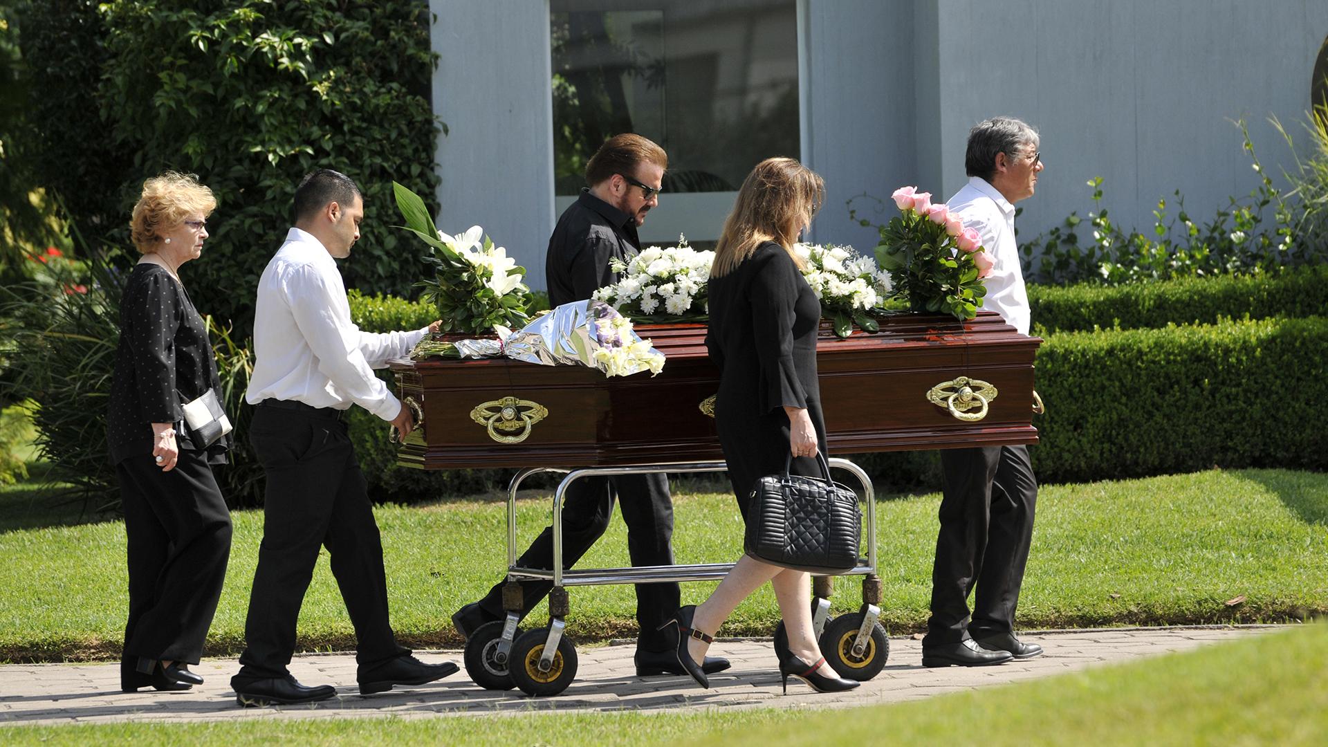 Los restos de María Engracia Cuervo de Galán fueron trasladados al cementerio Jardín de Paz
