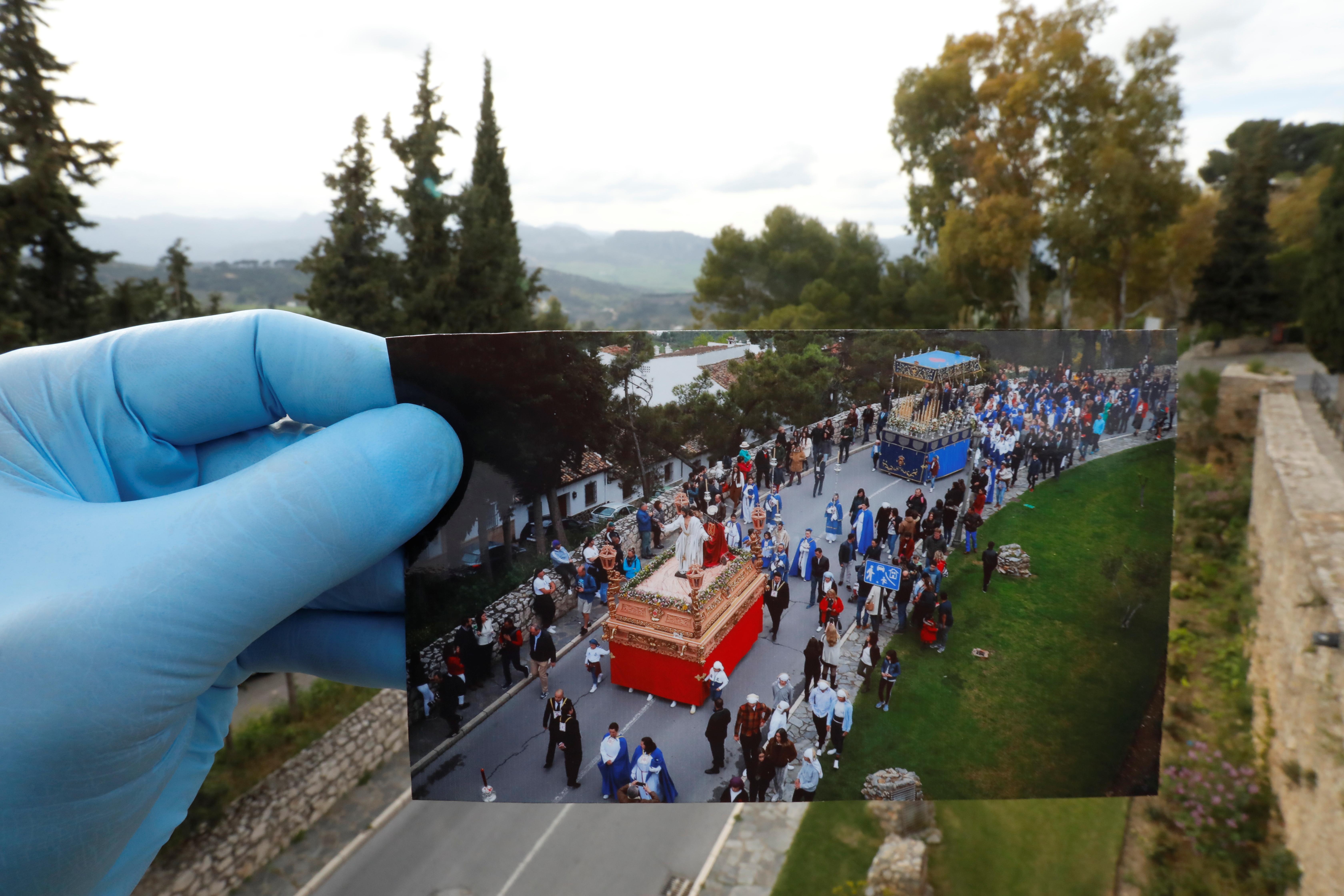 La procesión de la hermandad
