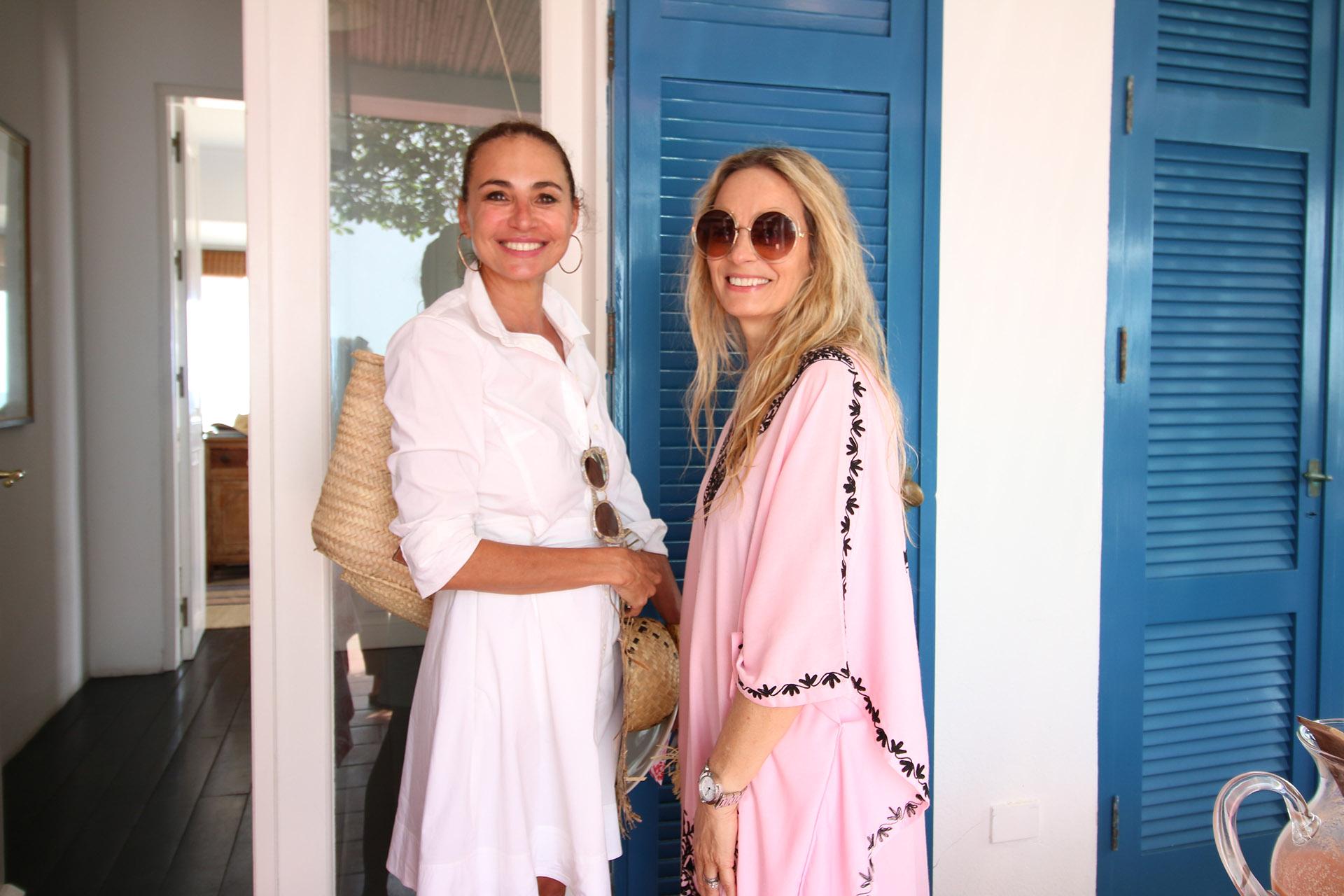 Natalia Lobo y Delfina Vázquez Maiztegui