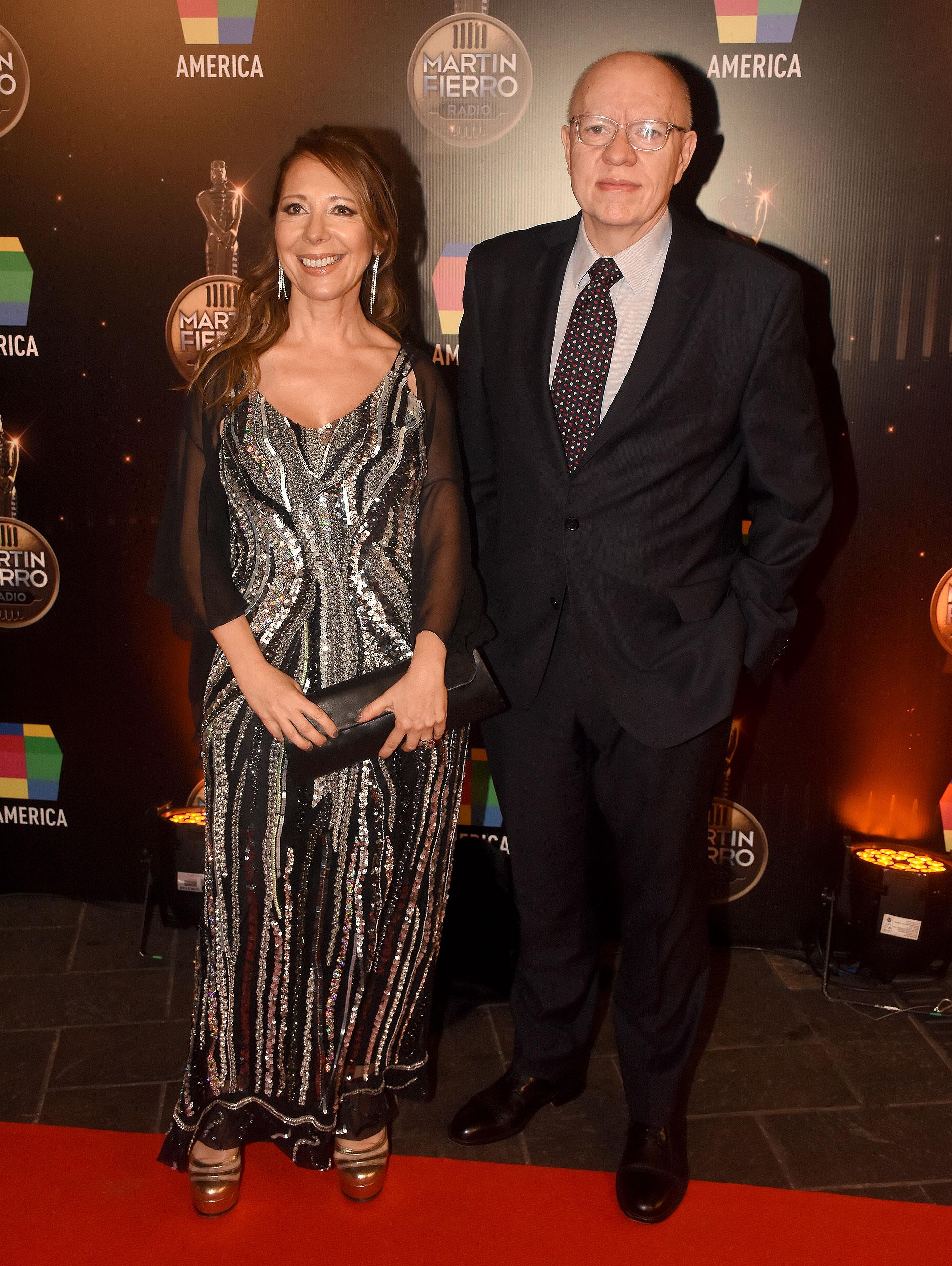 Laura Di Marco y Jorge Fernández Díaz