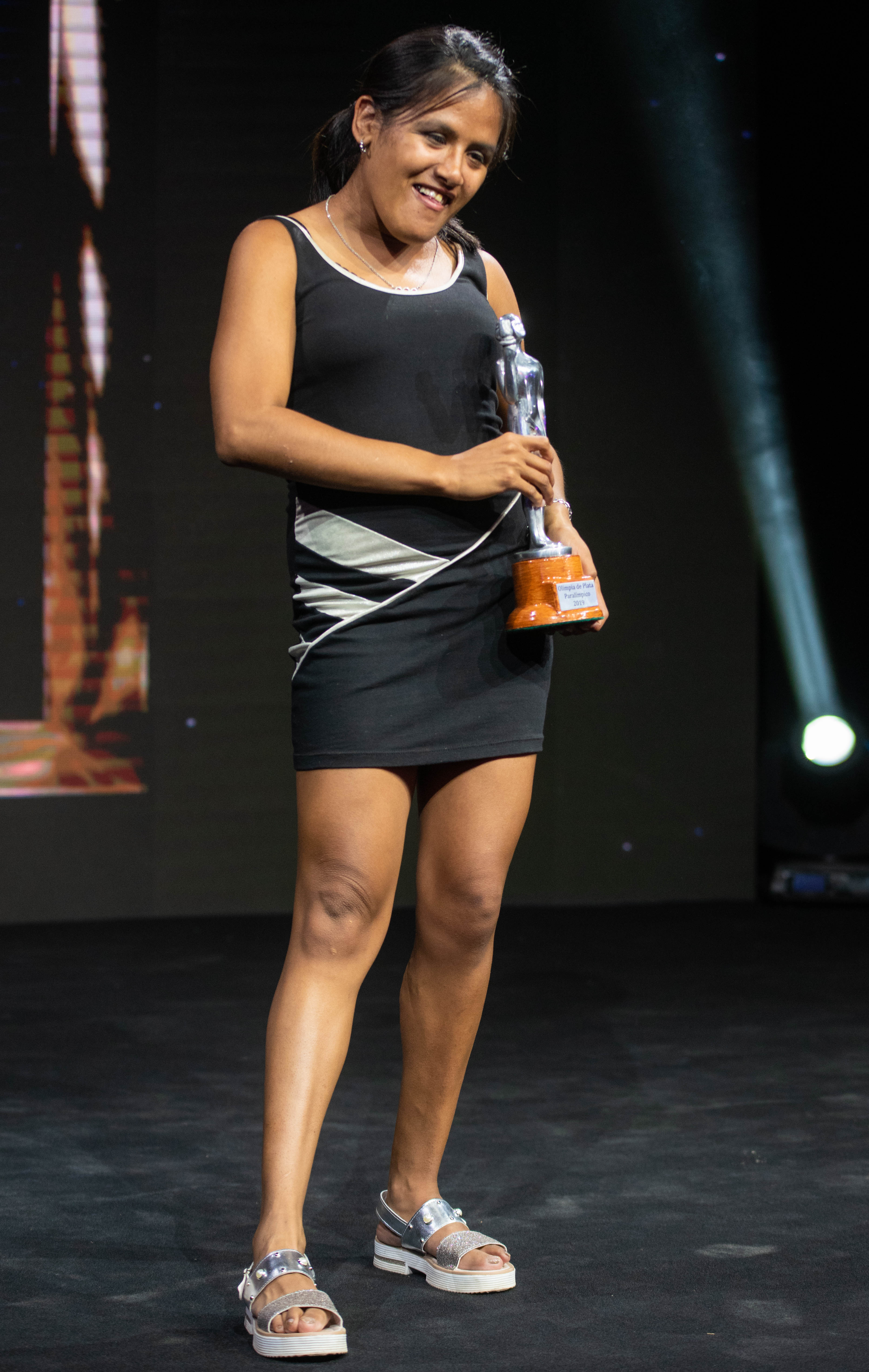 Yanina Martínez se adjudicó el galardón en la categoría Paralímpico.