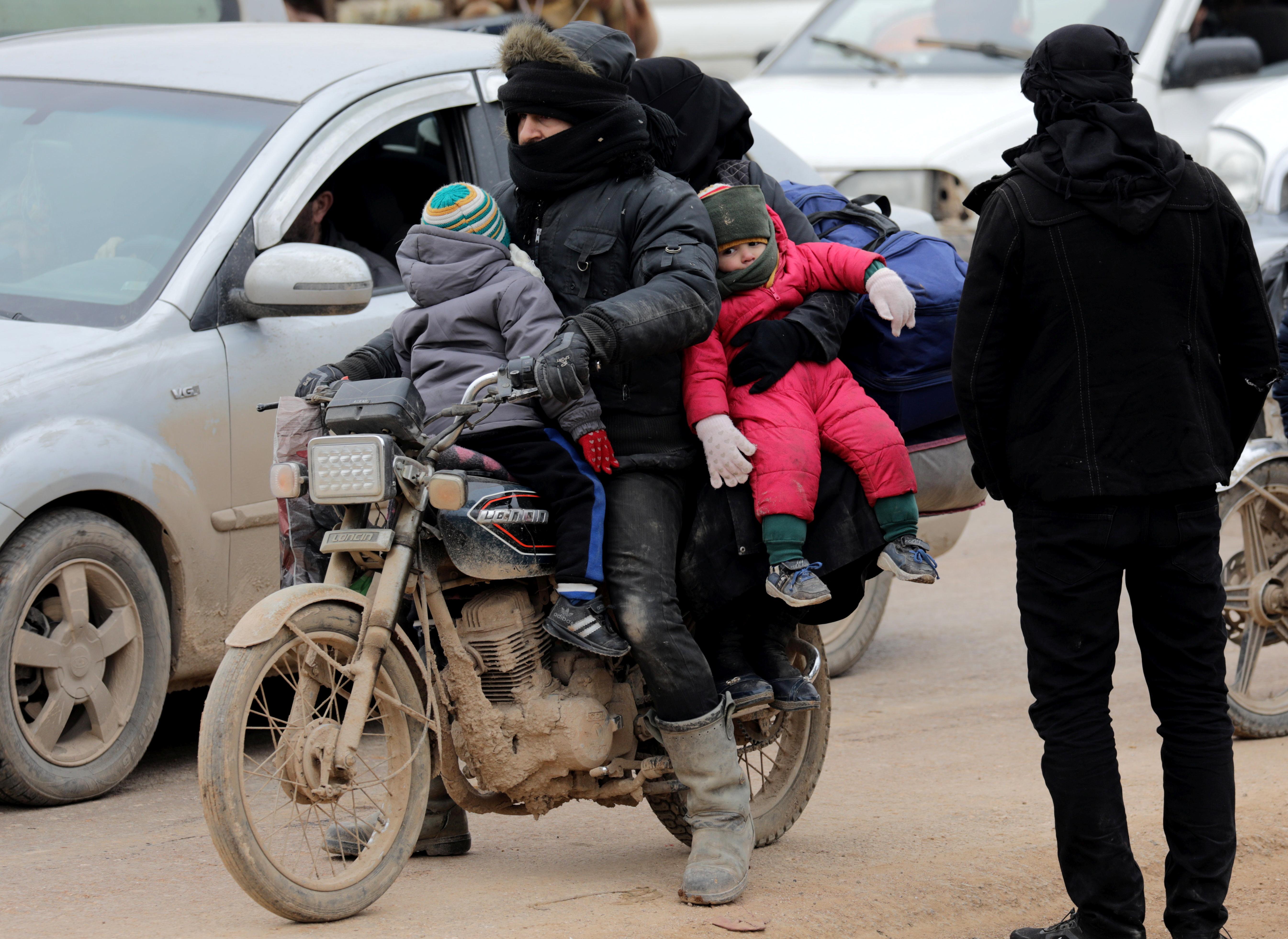 La guerra civil siria comenzó en 2011 y ha dejado un saldo de 380.000 muertos, 5 millones de refugiados en el extranjero y 7,6 millones de desplazados internos.