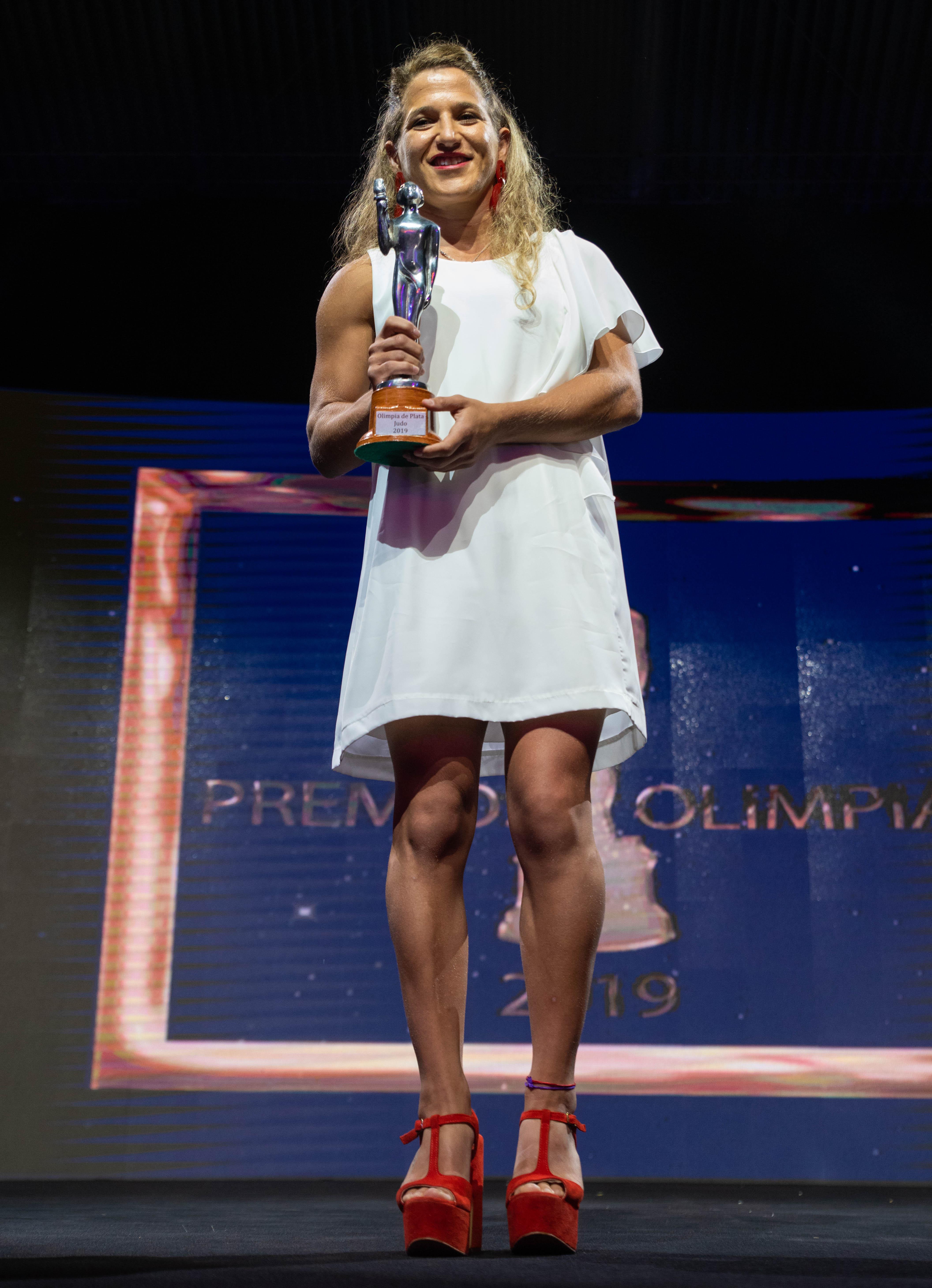 Paula Pareto se impuso en la terna de judo.