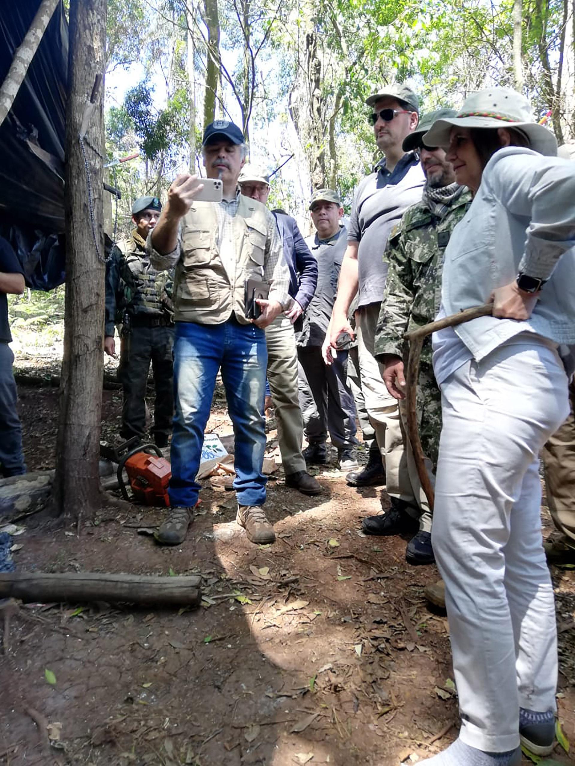 Fuentes de la investigación consultadas por Infobae señalaron que la mayor parte de la producción de cannabis fue emplazada en el Parque San Rafael, un escenario natural ideal para camuflar y esconder las plantaciones.