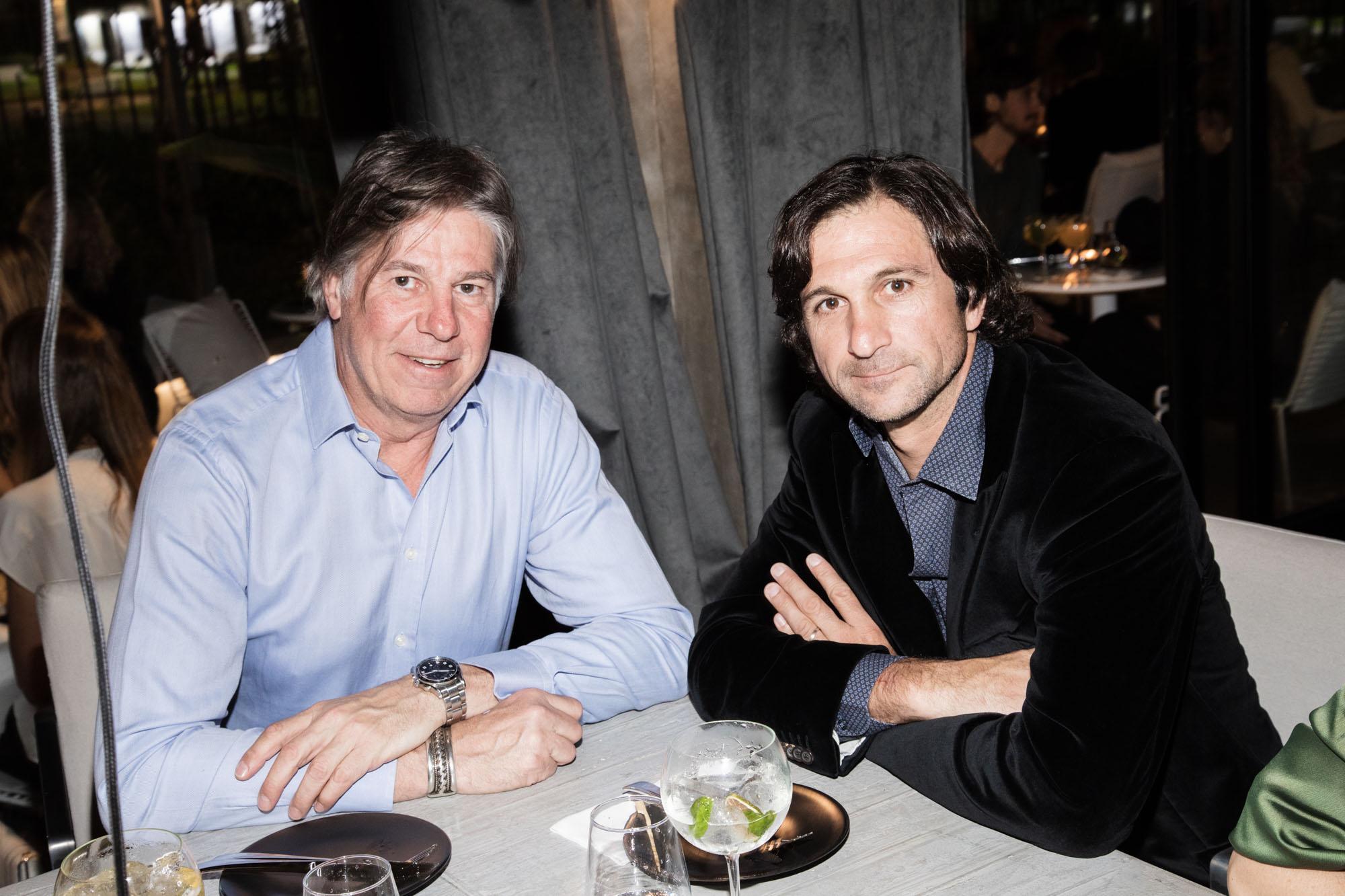Ricardo Caffarone y Eduardo Novillo Astrada