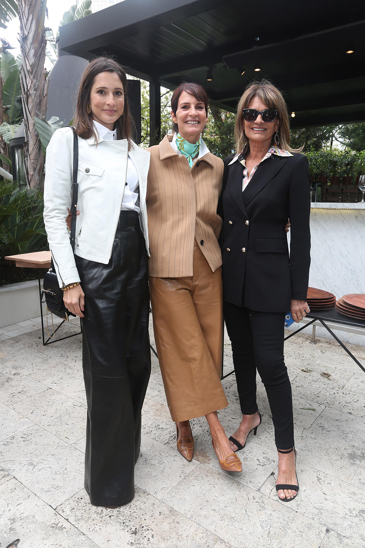 Astrid Muñoz, María Giménez y Teresa Calandra