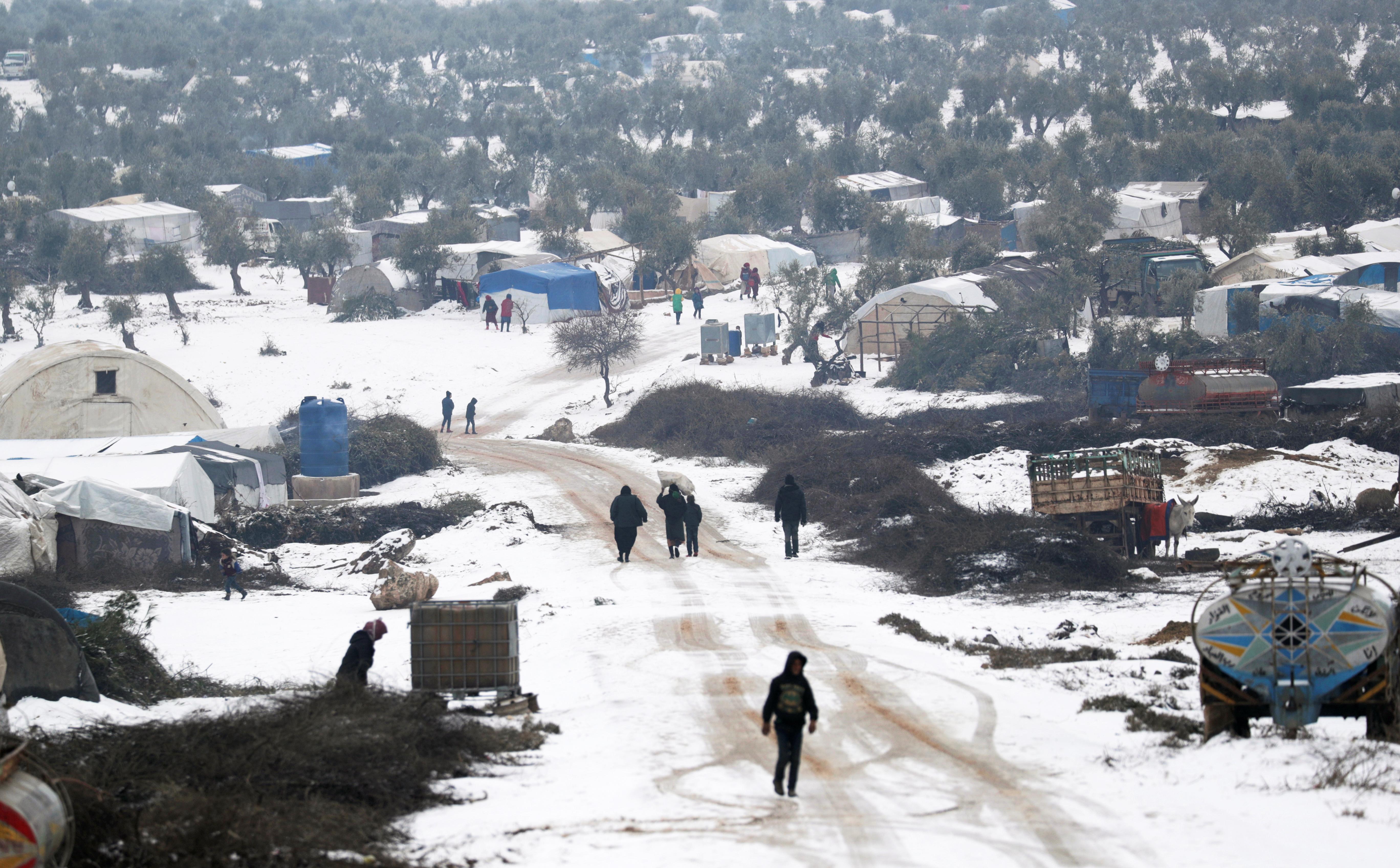 La situación en los campos es precaria y se calcula que hacen falta 335 millones de dólares para poder prestar asistencia a los desplazados