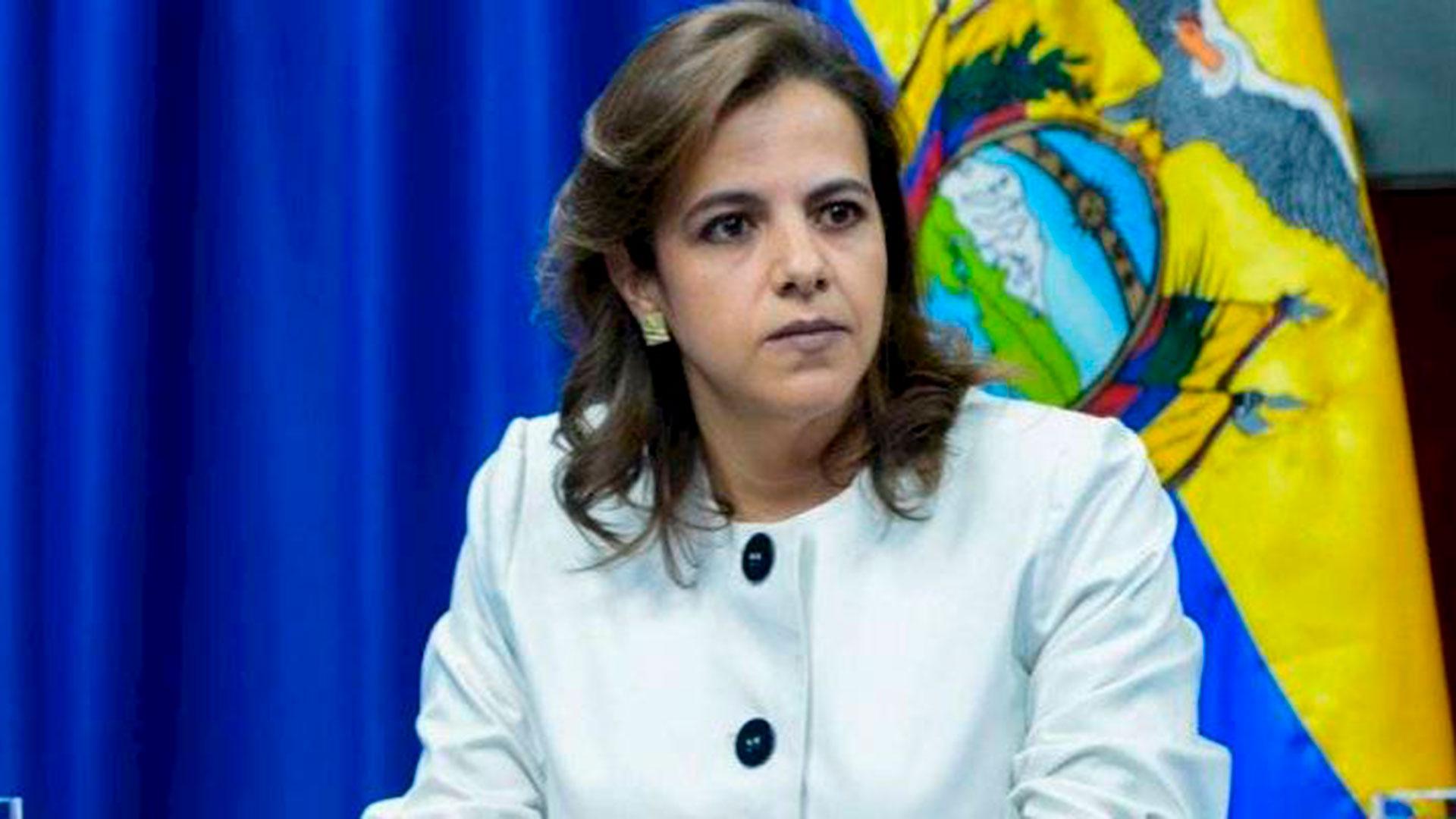 La ministra del Interior de Ecuador se disculpó por la actuación policial durante las protestas - Infobae