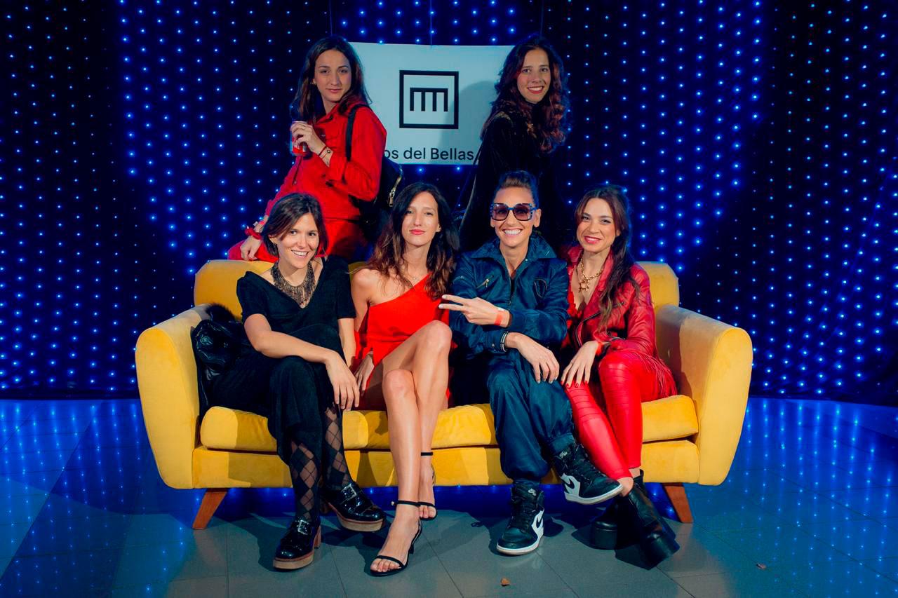 Marina Azcárate, Catalina de la Torre, Paula Reynal, Lola Scotta, Paula Paparella y Luisa Maguire