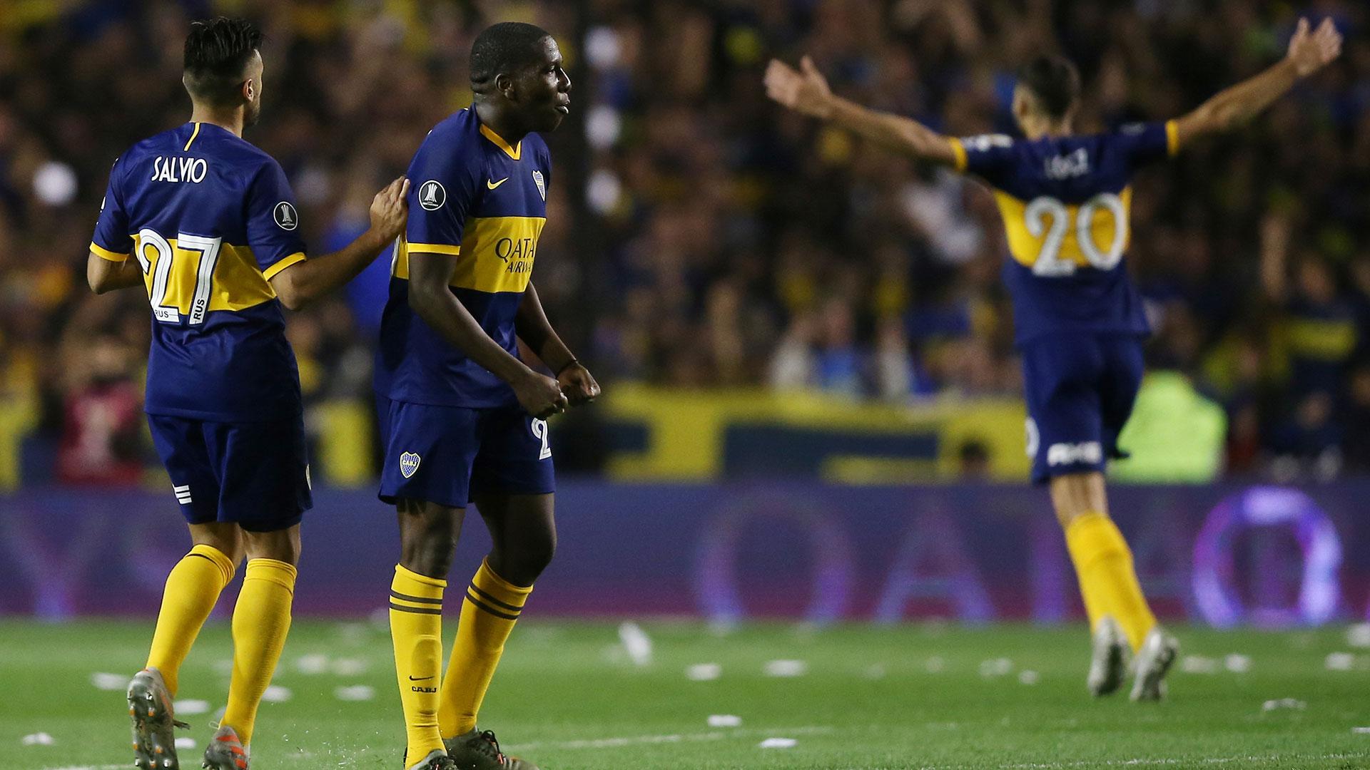 Pese al gol del venezolano, el Xeneize no pudo dar vuelta la serie