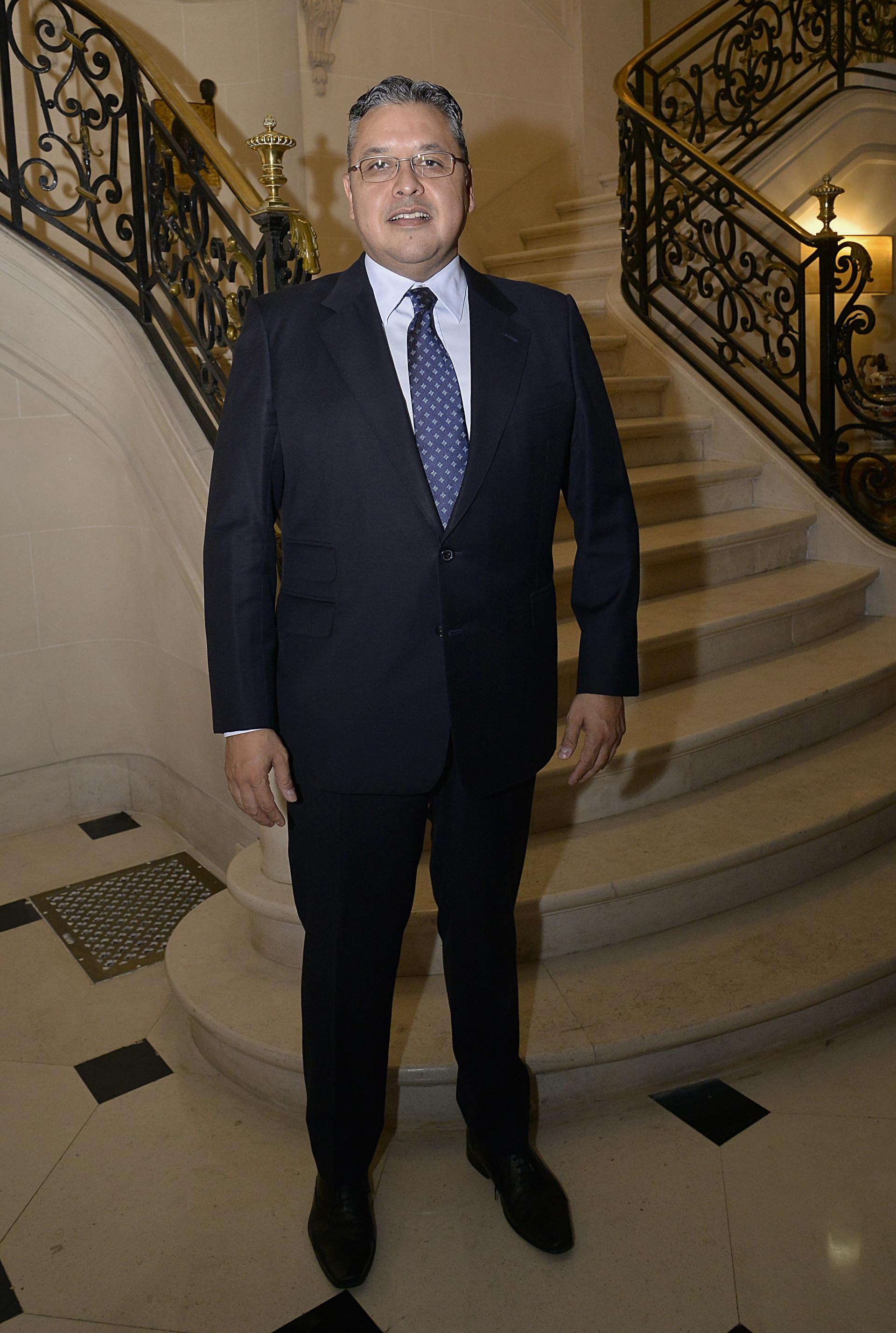 Ariel Blufstein, encargado de Relaciones Diplomáticas de DAIA