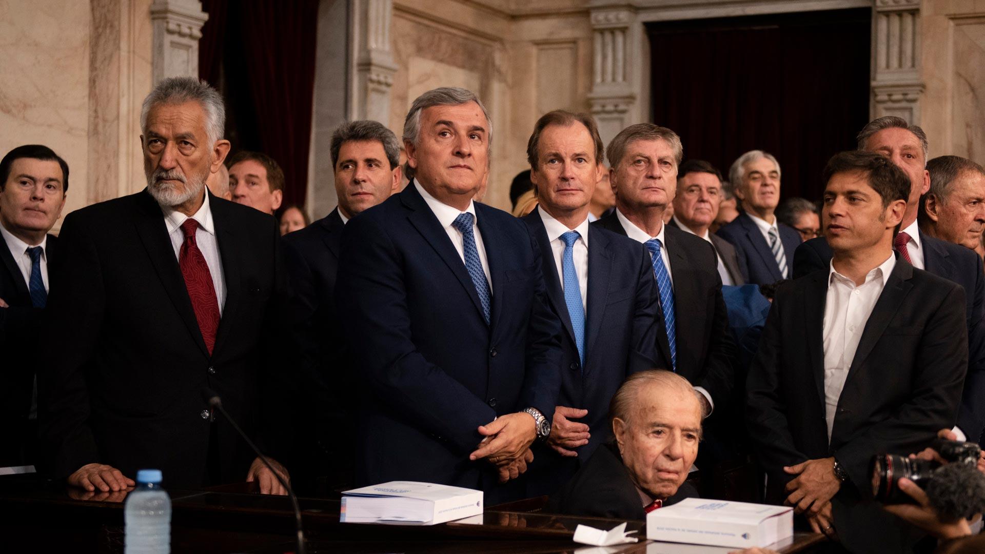 Los gobernadores acompañaron el inicio de las sesiones ordinarias