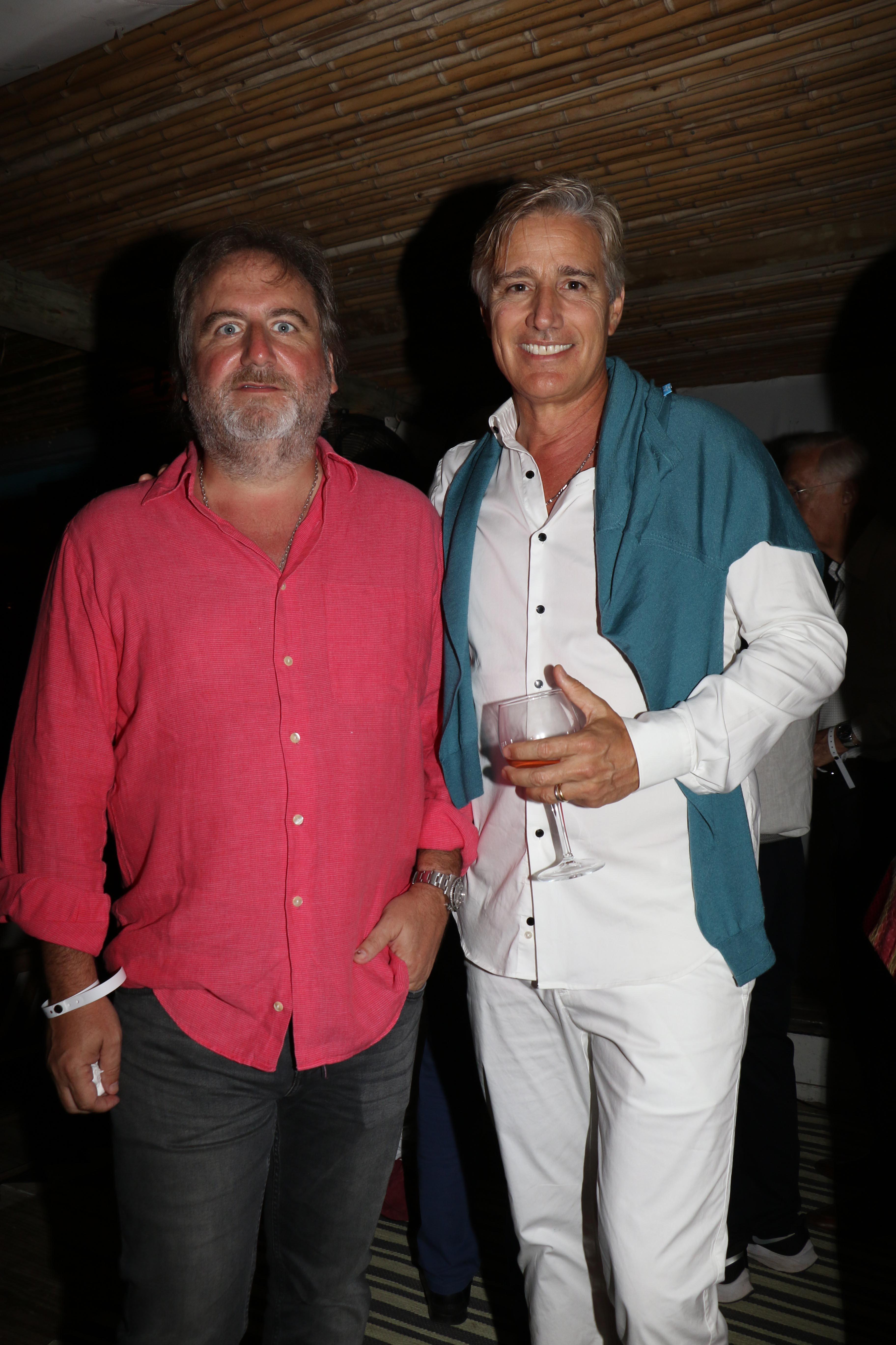 Tato Lanusse y Marcelo Figueiras