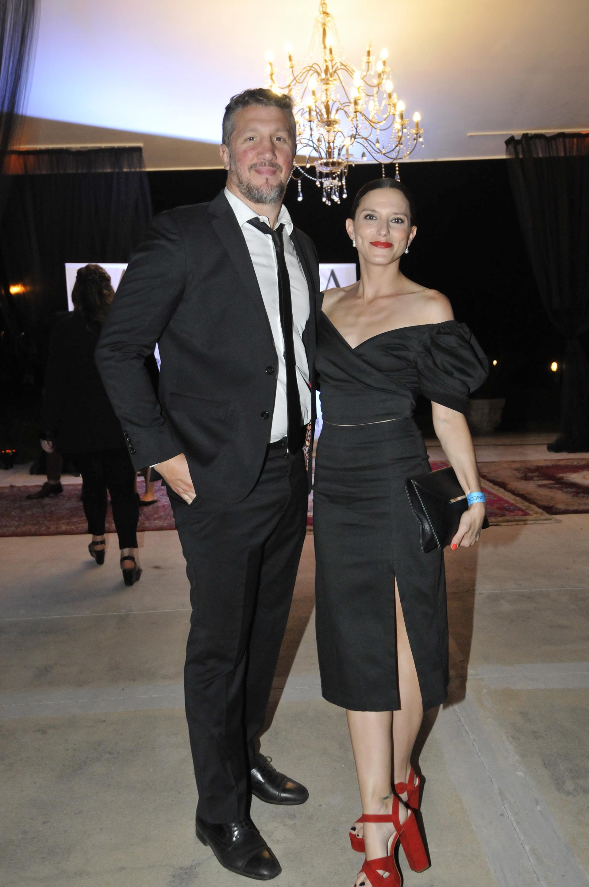 Manuela Pal y su marido, Gonzalo Díaz Servidio