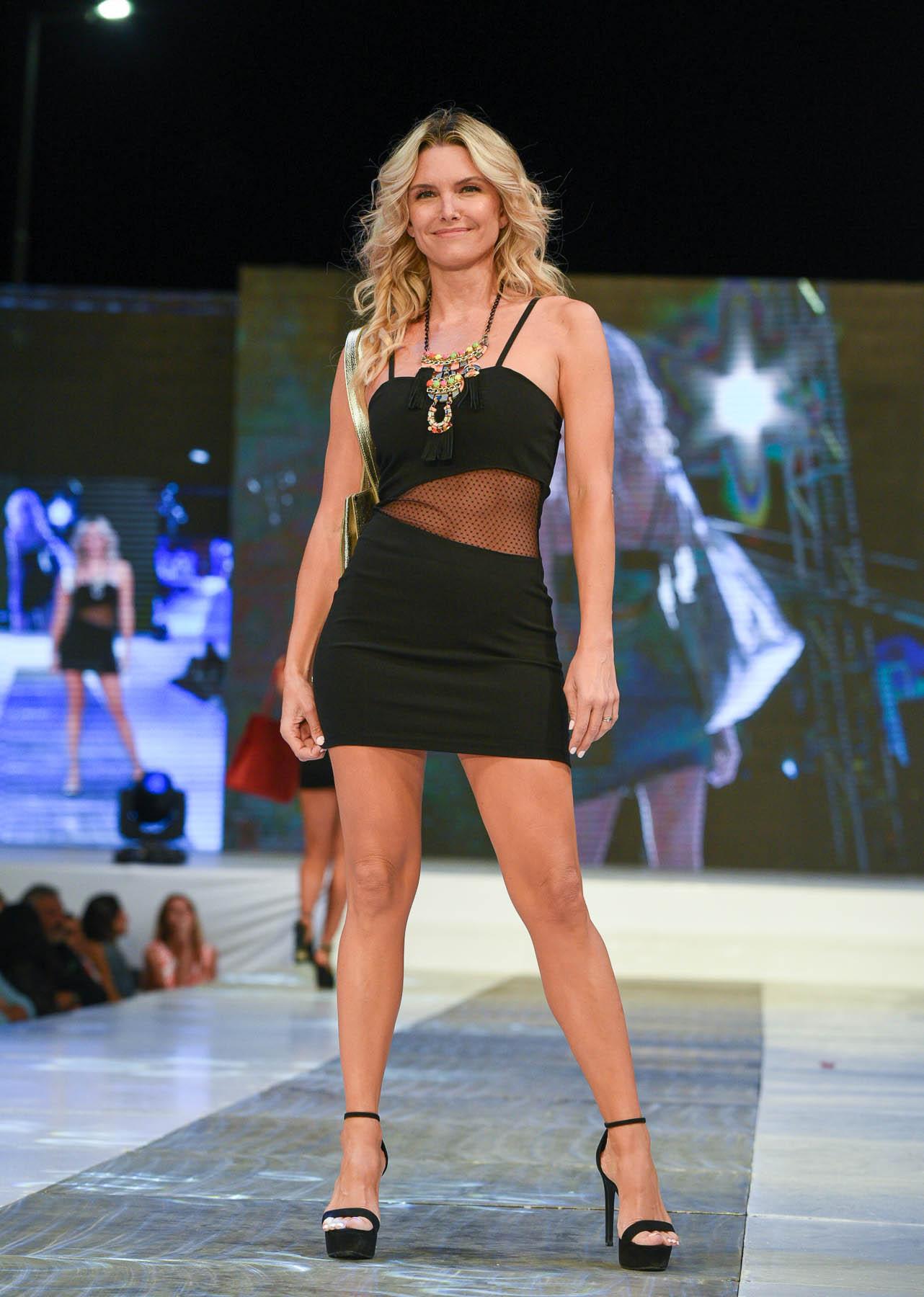 Sofía Zamolo, una de las top models presentes en el Pinamar Moda Look 2020