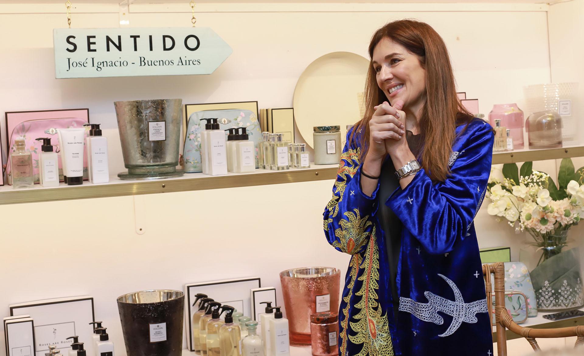 Hace diez años y junto con su marido Lucas Bocchino, Andrea Frigerio creó los perfumes de autor