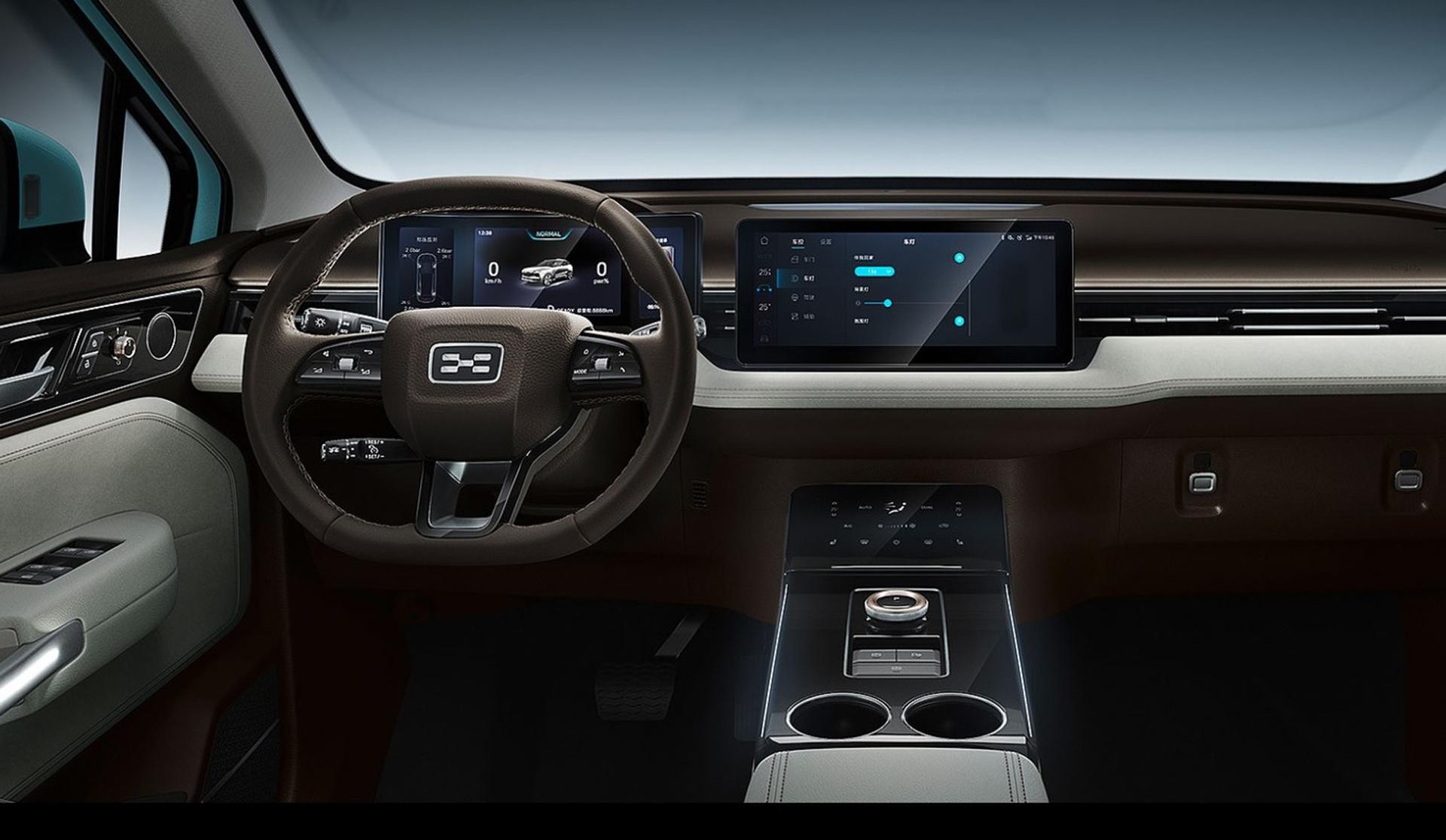 El interior del U5 se caracteriza por su diseño futurista
