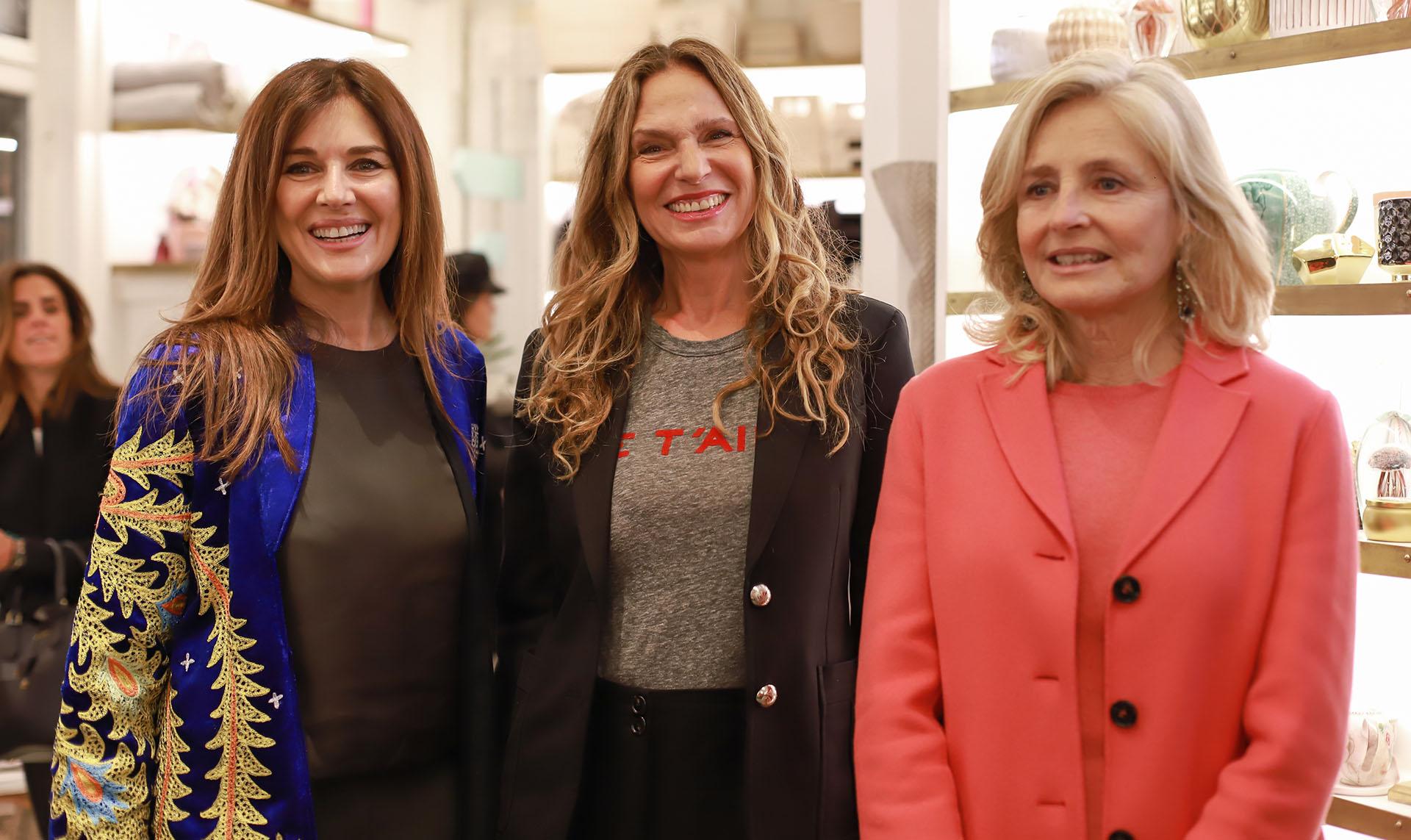 Andrea Frigerio, Ginette Reynal y Cecilia Zuberbuhler