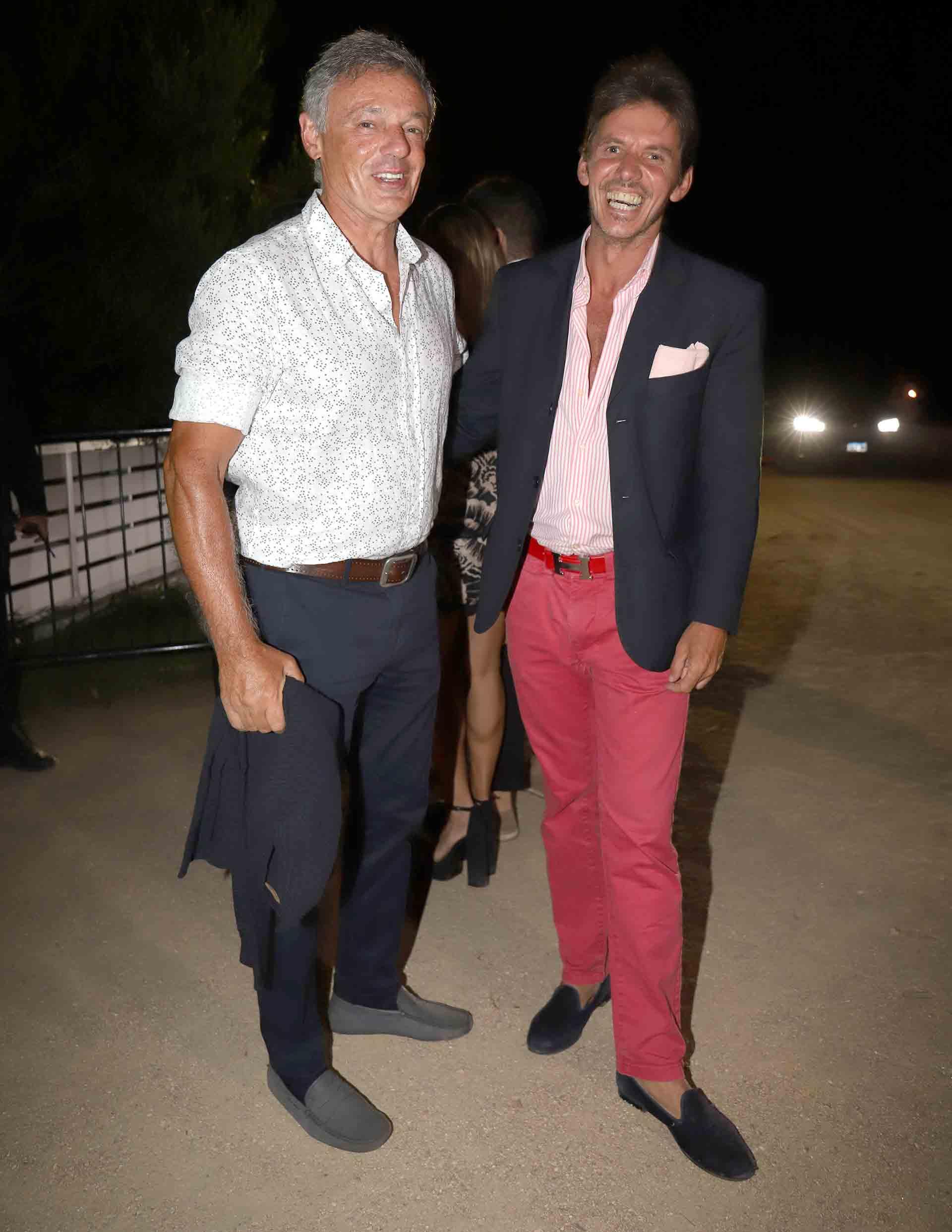 El ex ministro de Producción, Francisco Cabrera, y Gerard Confalonieri