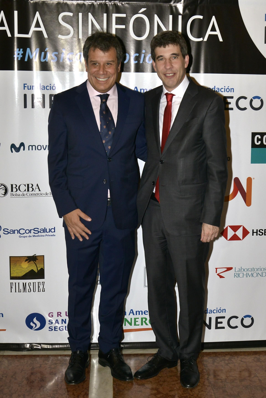 Facundo Manes y Alejandro Simón