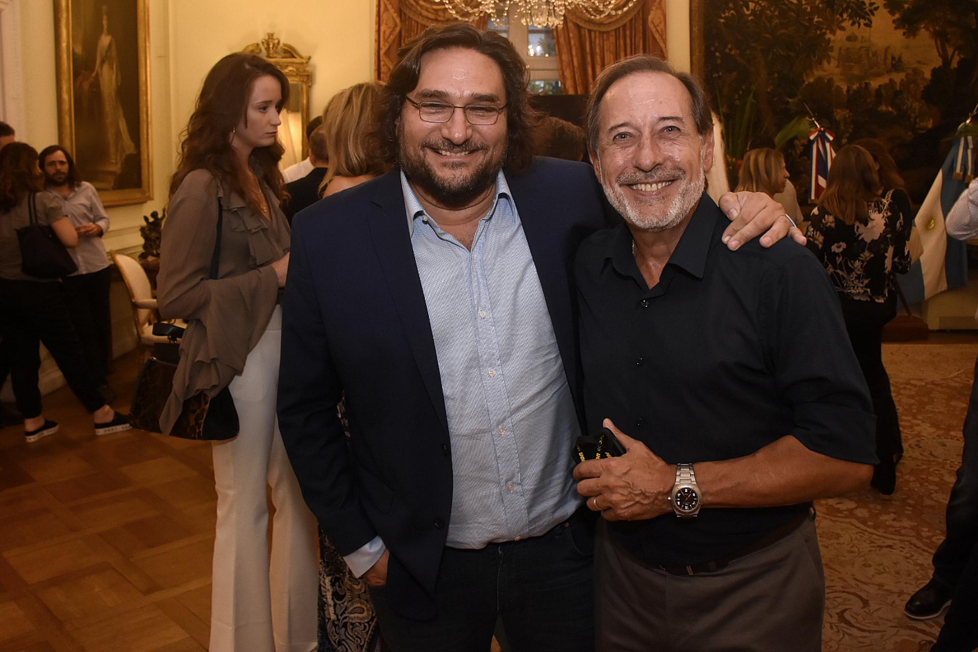 Martín Kweller y Guillermo Francella