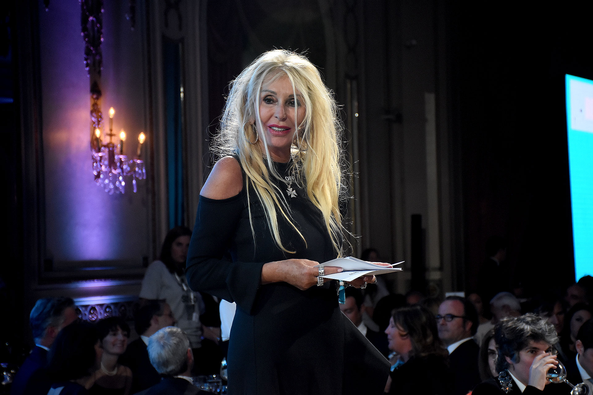 La empresaria y filántropa suiza Renata Jacobs, fundadora y vicepresidente de la Fundación Cartoneros y sus Chicos. Desde 2001, acompaña a los cartoneros con un proyecto educativo para sus hijos
