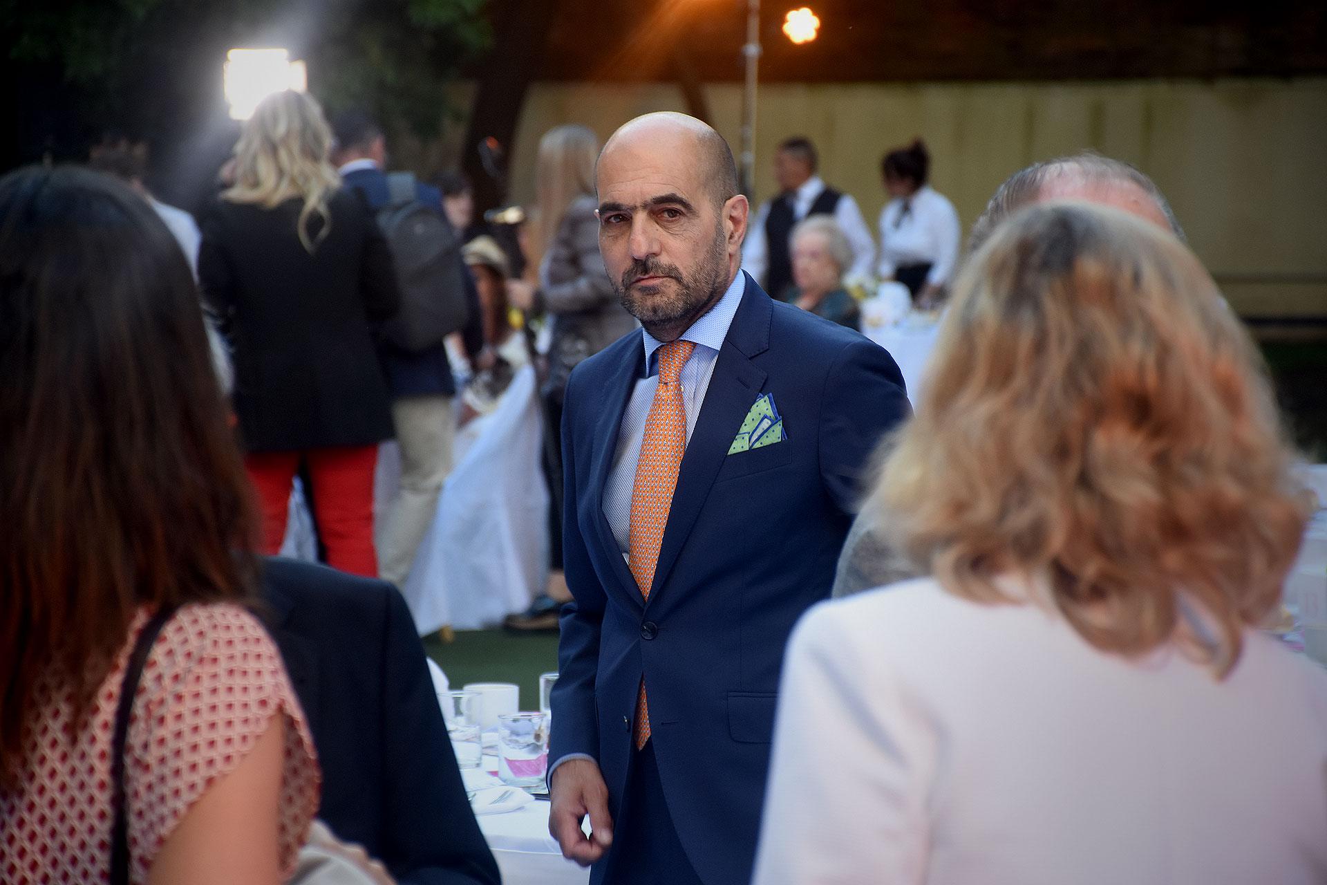 El presidente de la Asociación de Amigos del Museo de Arte Hispanoamericano