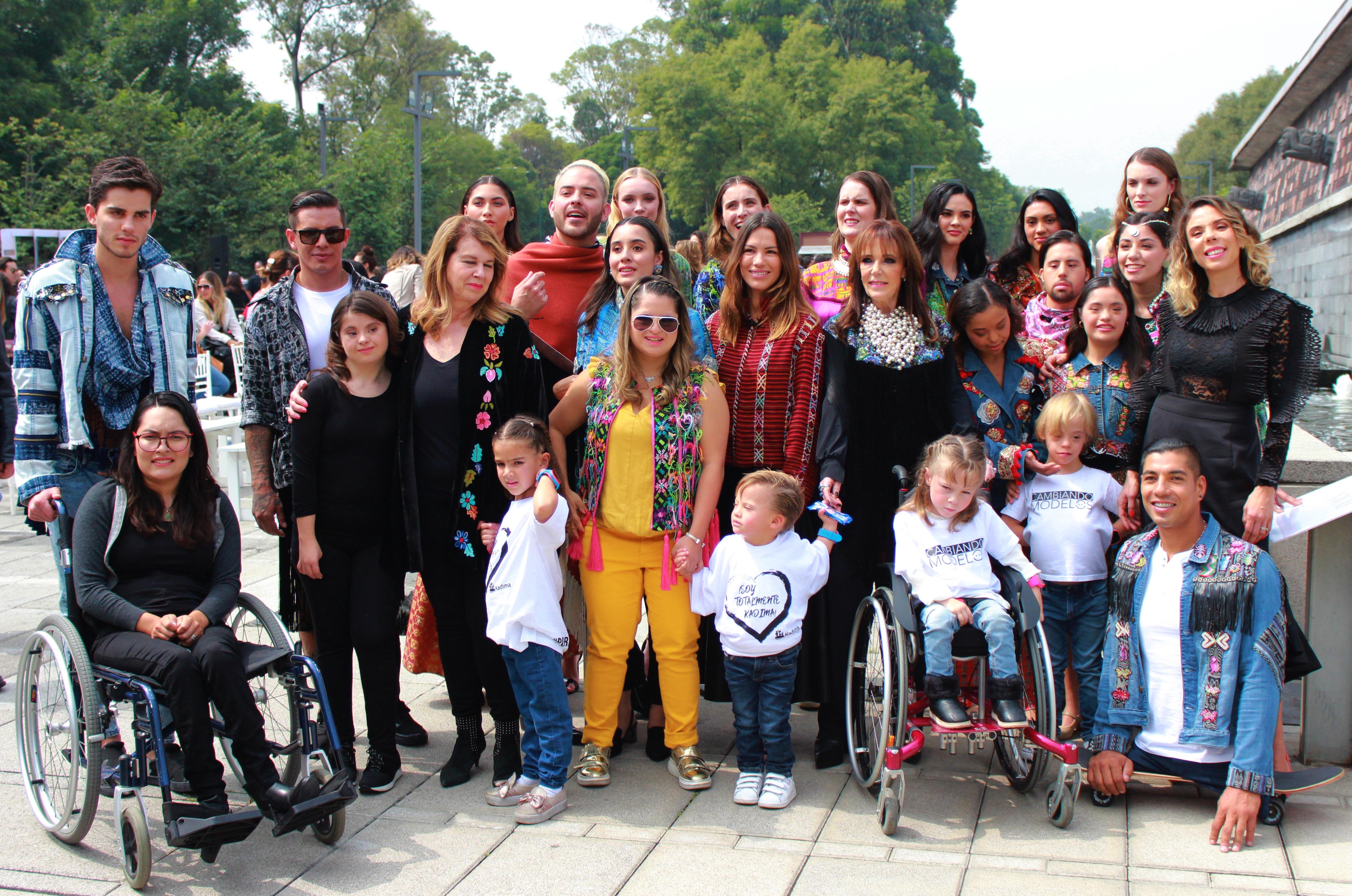 El All Inclusive Runway 2019 se realizó en el Bosque de Chapultepec en la Ciudad de México (Foto: Martín Avilés)