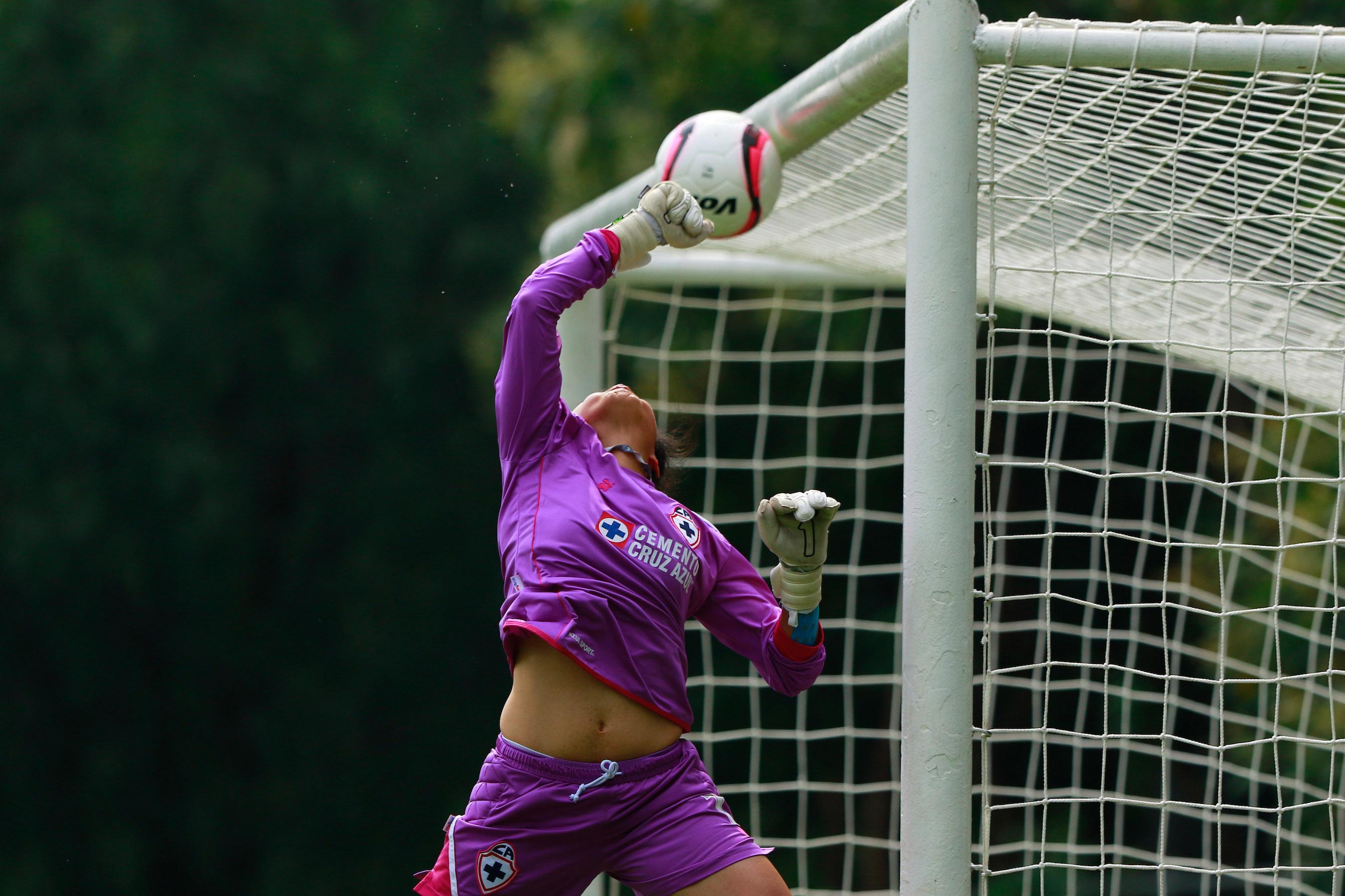 Ciudad de México, 26 de agosto 2017, el equipo de Pumas derrotó 3-1 al conjunto de Cruz Azul en la Jornada 5 de la Liga MX Femenil (Foto: Cuartoscuro)