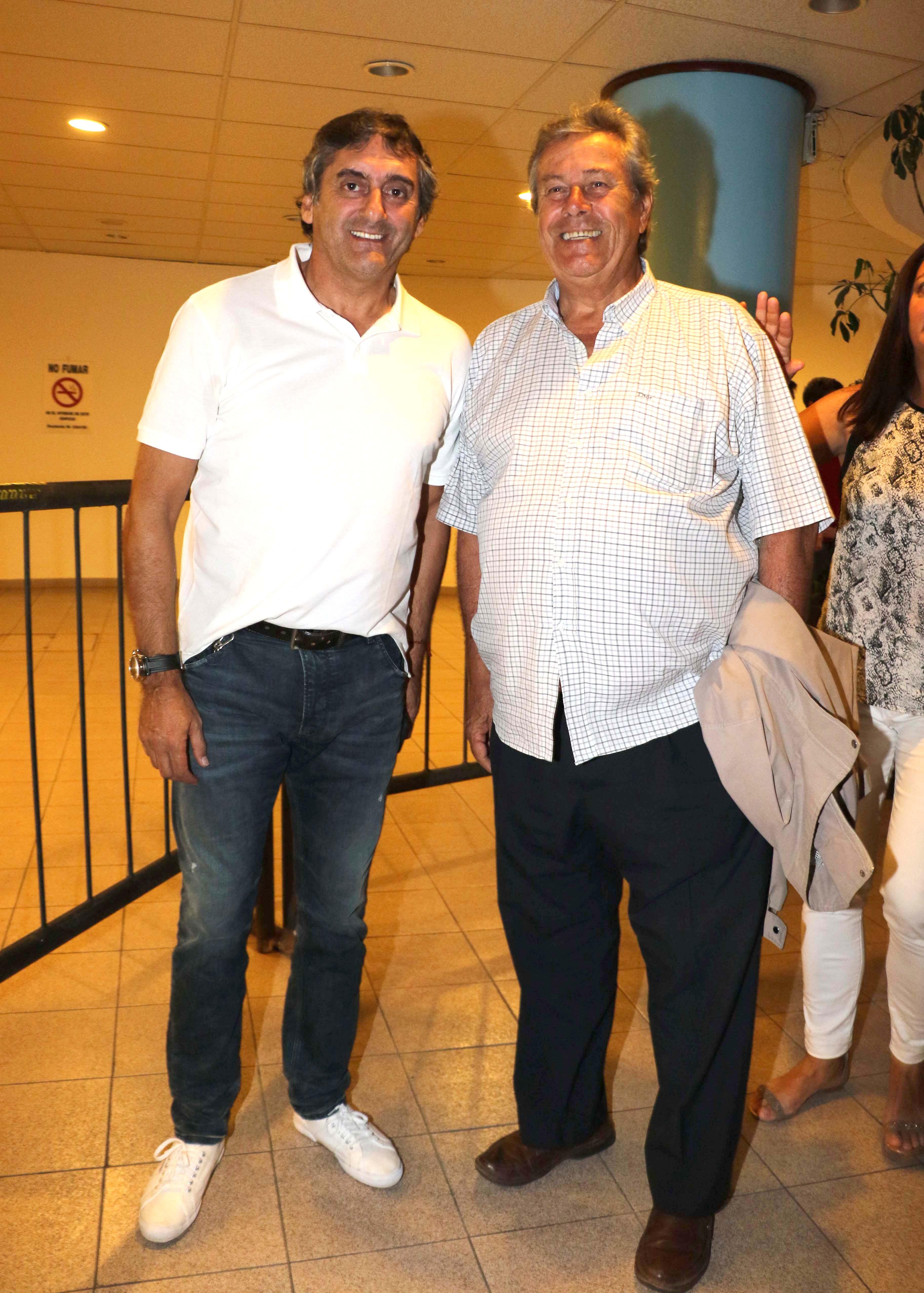 Enzo Francescoli y Enrique Antía