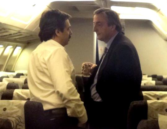 Fue jefe de campaña de Néstor Kirchner en las elecciones presidenciales del 27 de abril, en las que el gobernador santacruceño compitió con Carlos Menem.