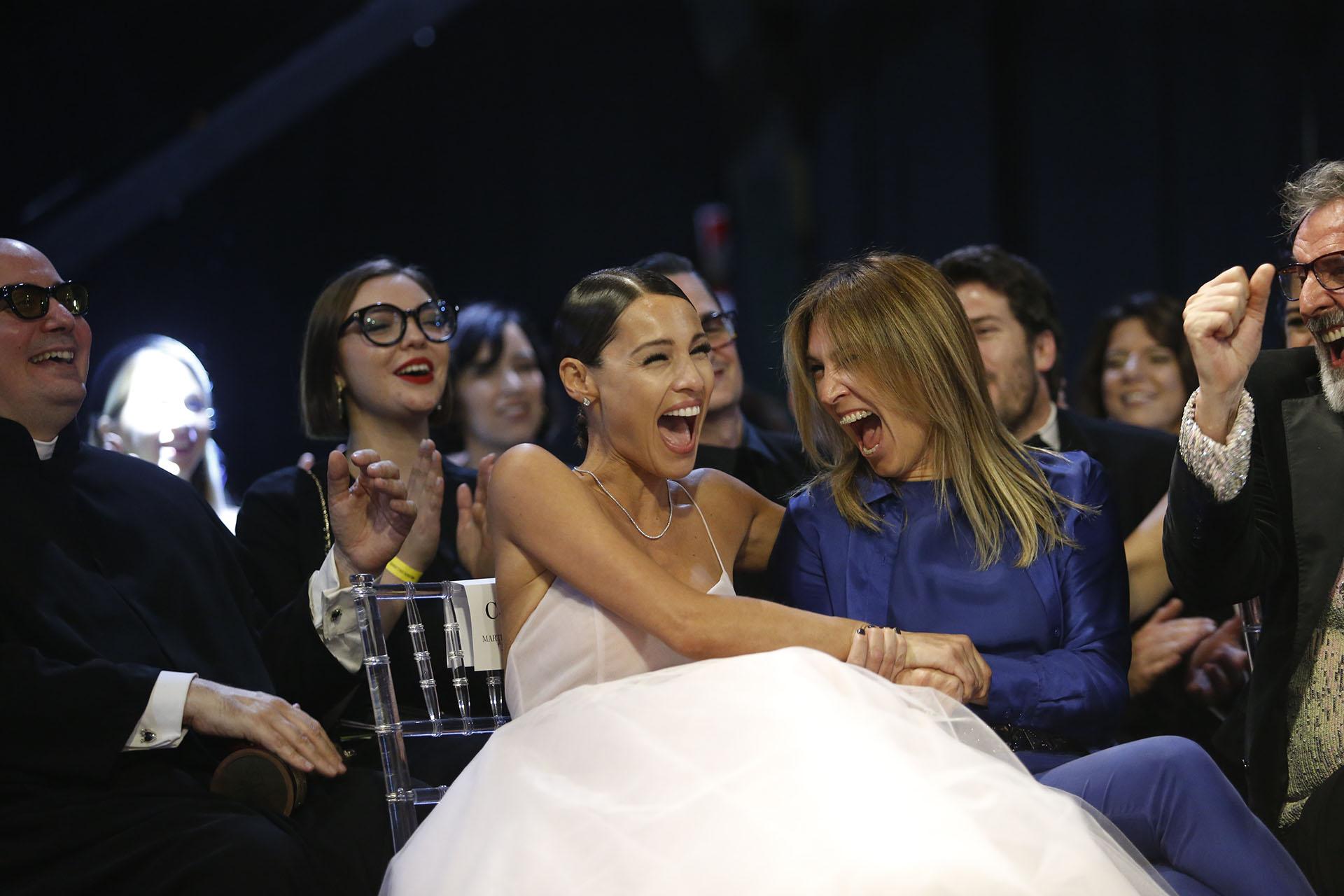 Pampita pasó de la risa a las lágrimas. Fue una noche de mucha emoción donde recordó a su hija Blanquita, y también a su madre y a su abuela que le enseñaron a coser