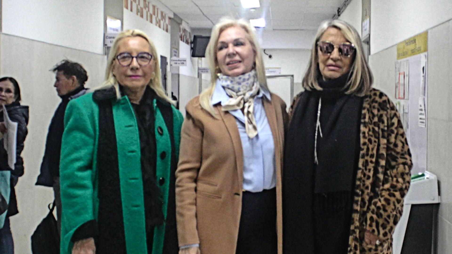 Elsa Tealdi. Diana Chugri y Cristina Díaz Alberdi