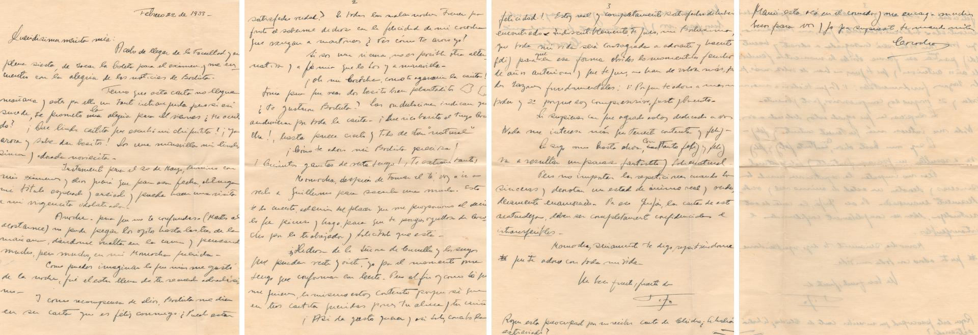 El romance de Tito y Beba, Mardel Plata, años 30