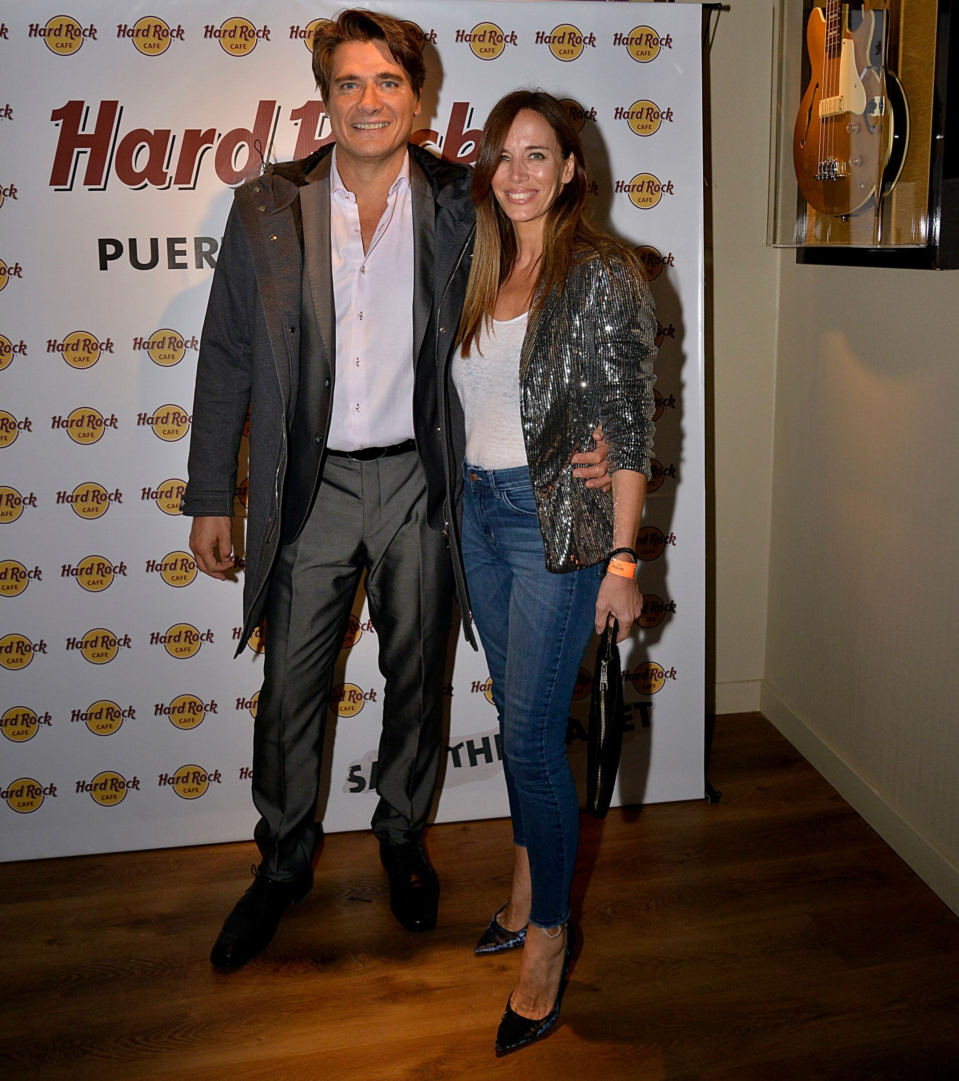 Guillermo Andino y Carolina Prat