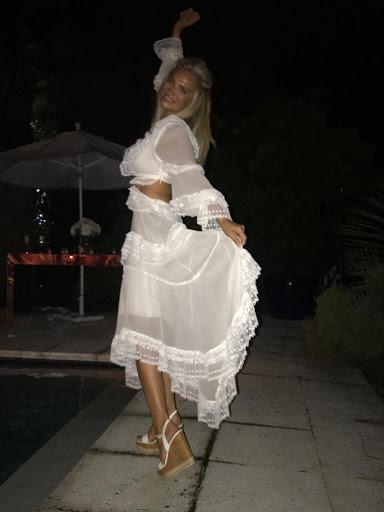 Lily Sciorra y un look espectacular en