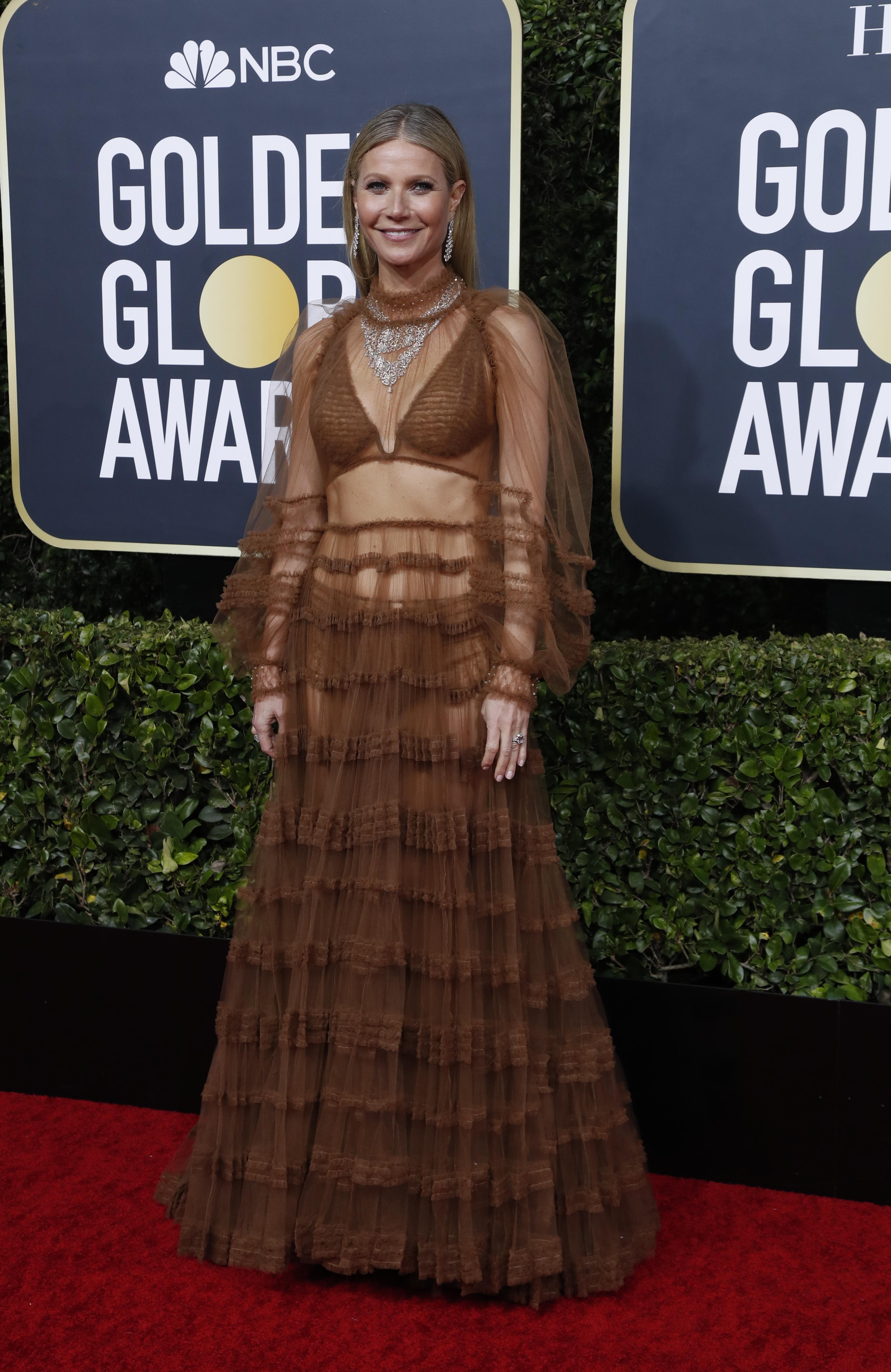 Gabriela Gurmandi opinó sobre el look de Gwyneth Paltrow y dijo: