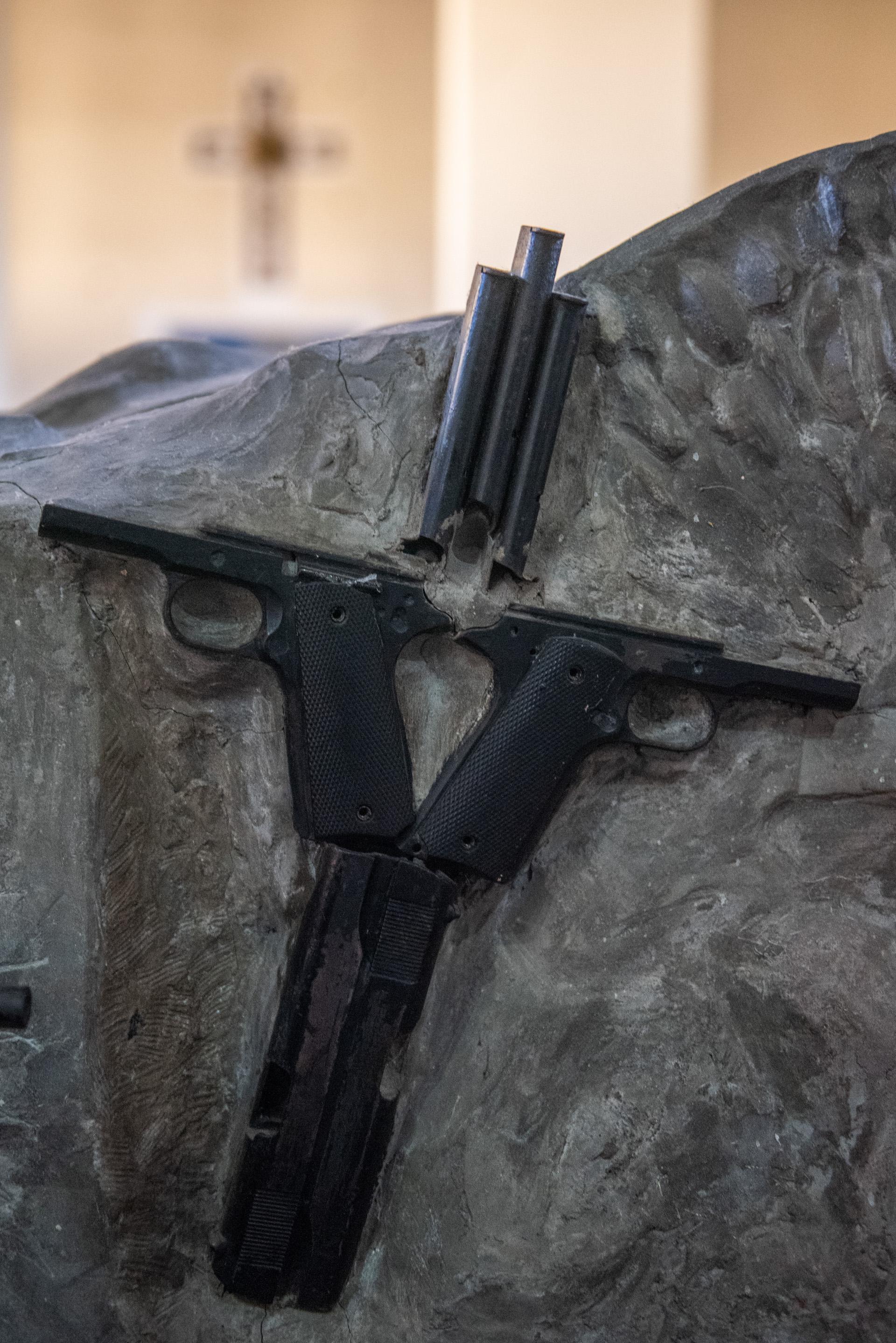Pistolas pertenecientes al Ejército Argentino