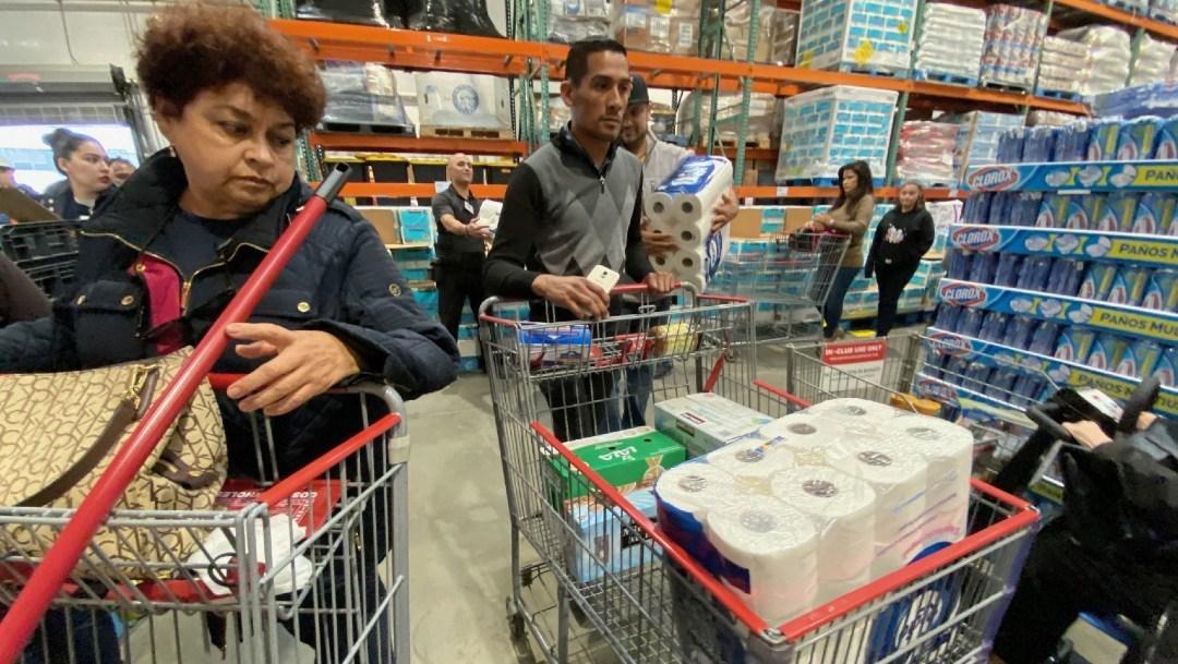 Compras de pánico en Tijuana y Tamaulipas por coronavirus: estos ...