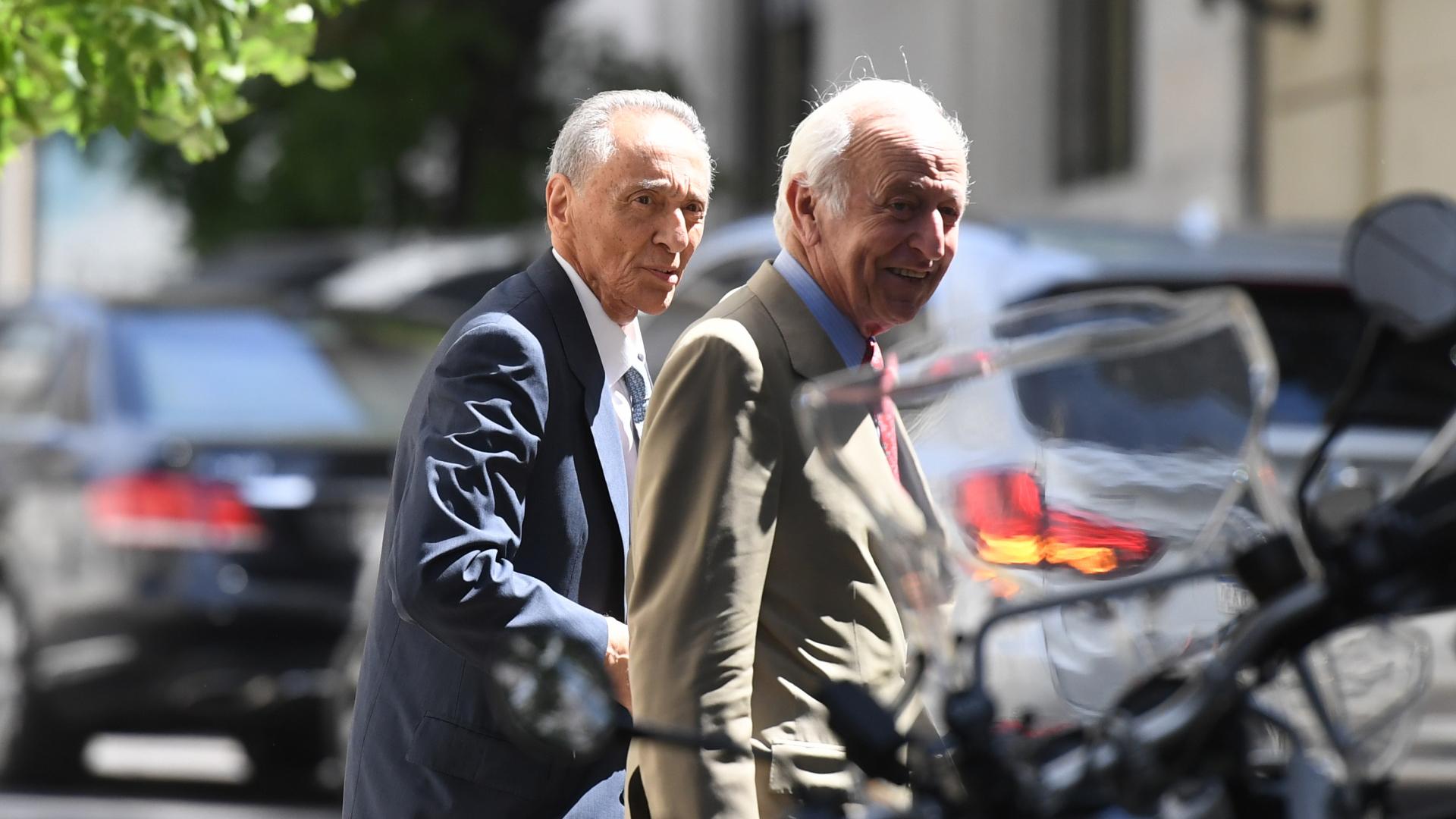 Héctor Magnetto, CEO de Grupo Clarín, y Santiago Soldati