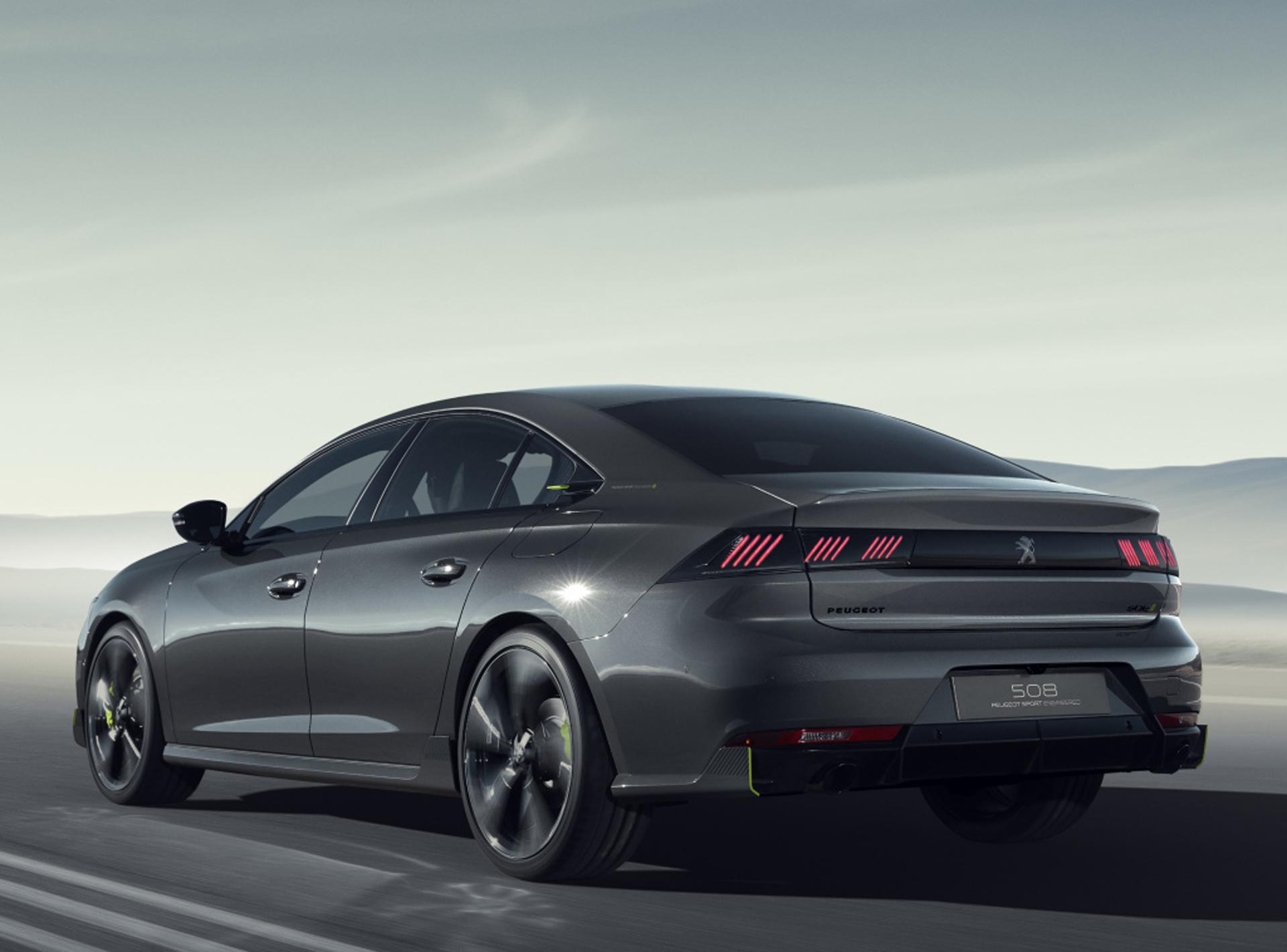 El 508 Peugeot Sport Engineered estará presente en el Salón del Automóvil de Ginebra 2019 que se realizará en marzo
