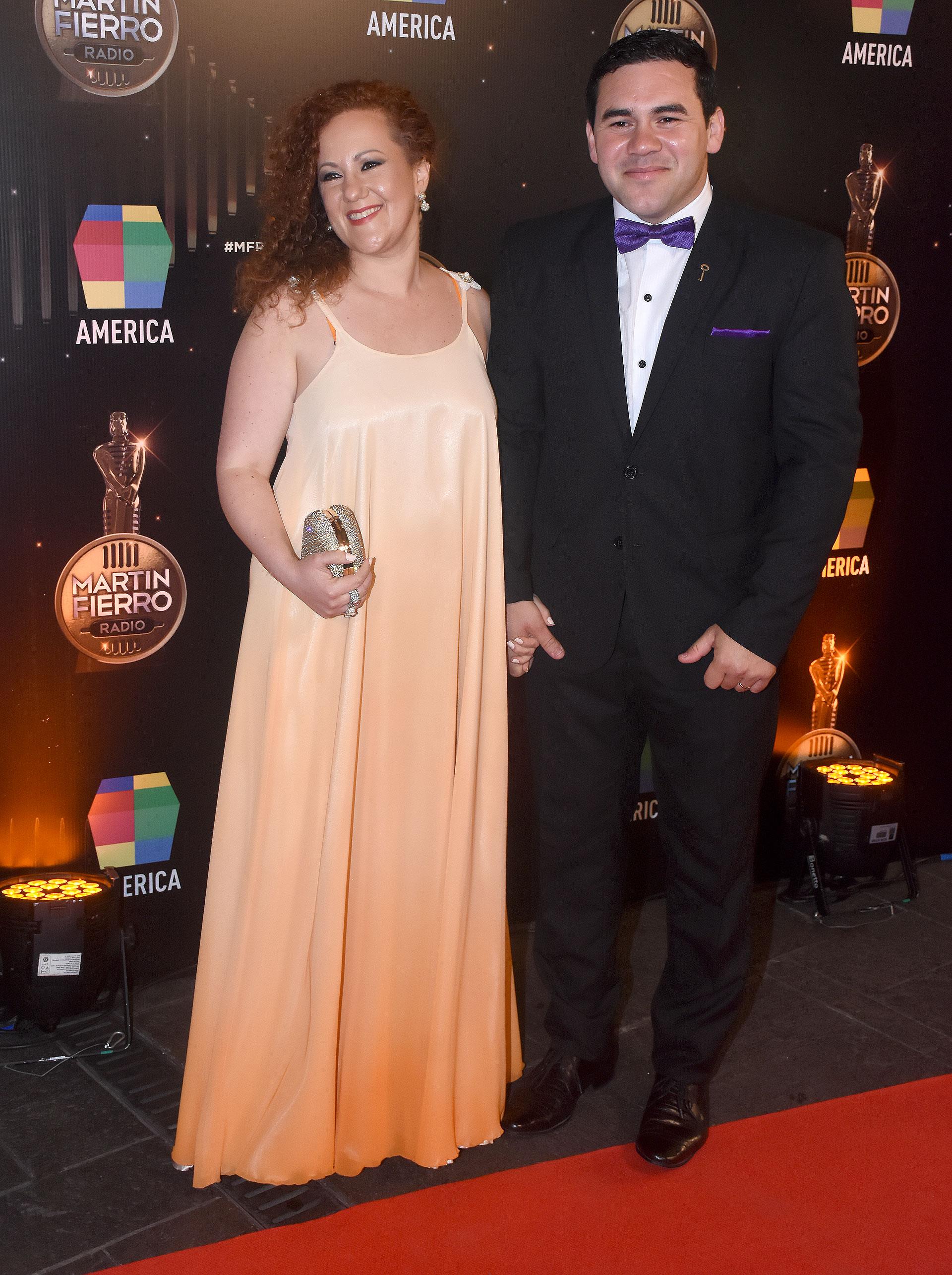 Martín Rojas y su mujer, Nadia Rodríguez