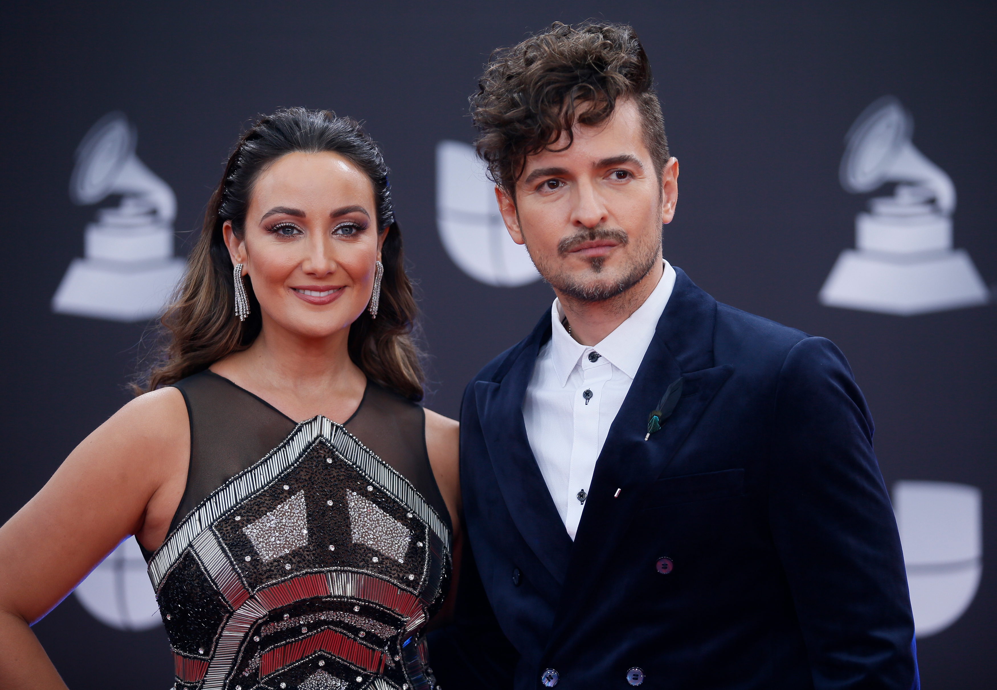 The 20th Annual Latin Grammy Awards – Arrivals – Las Vegas, Nevada, U.S., November 14, 2019 – Tommy Torres and guest. REUTERS/Danny Moloshok