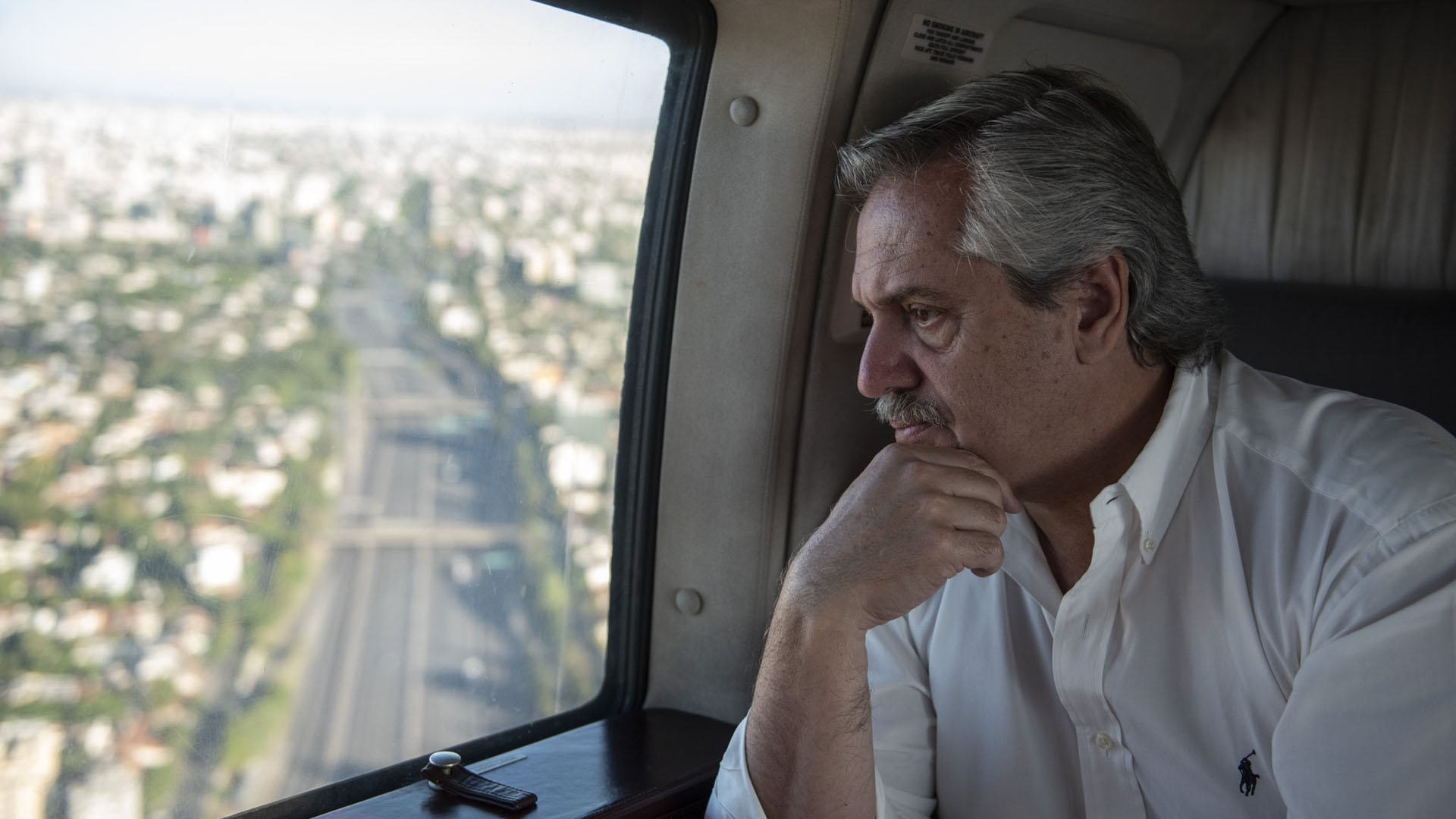 Alberto Fernández sobrevoló el Área Metropolitana para supervisar ...