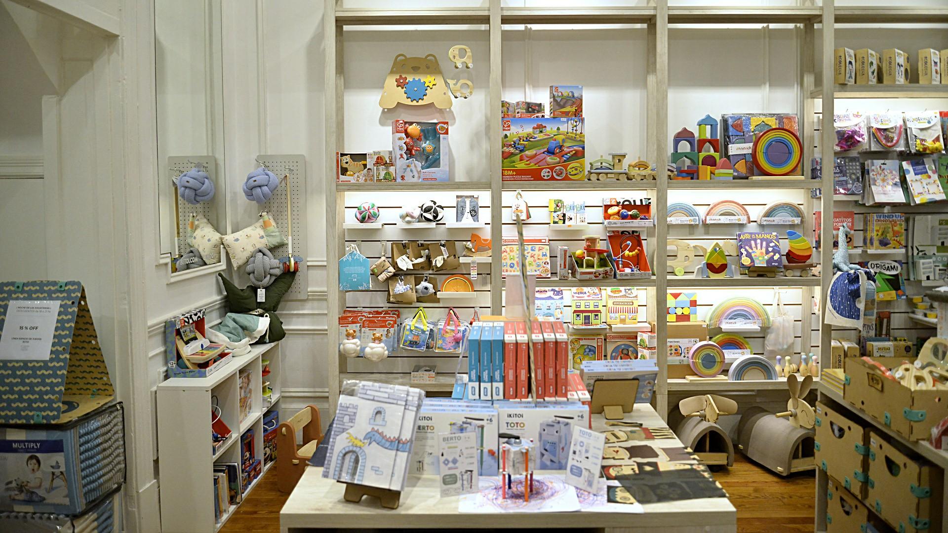 Postales de las jugueterías de Buenos Aires