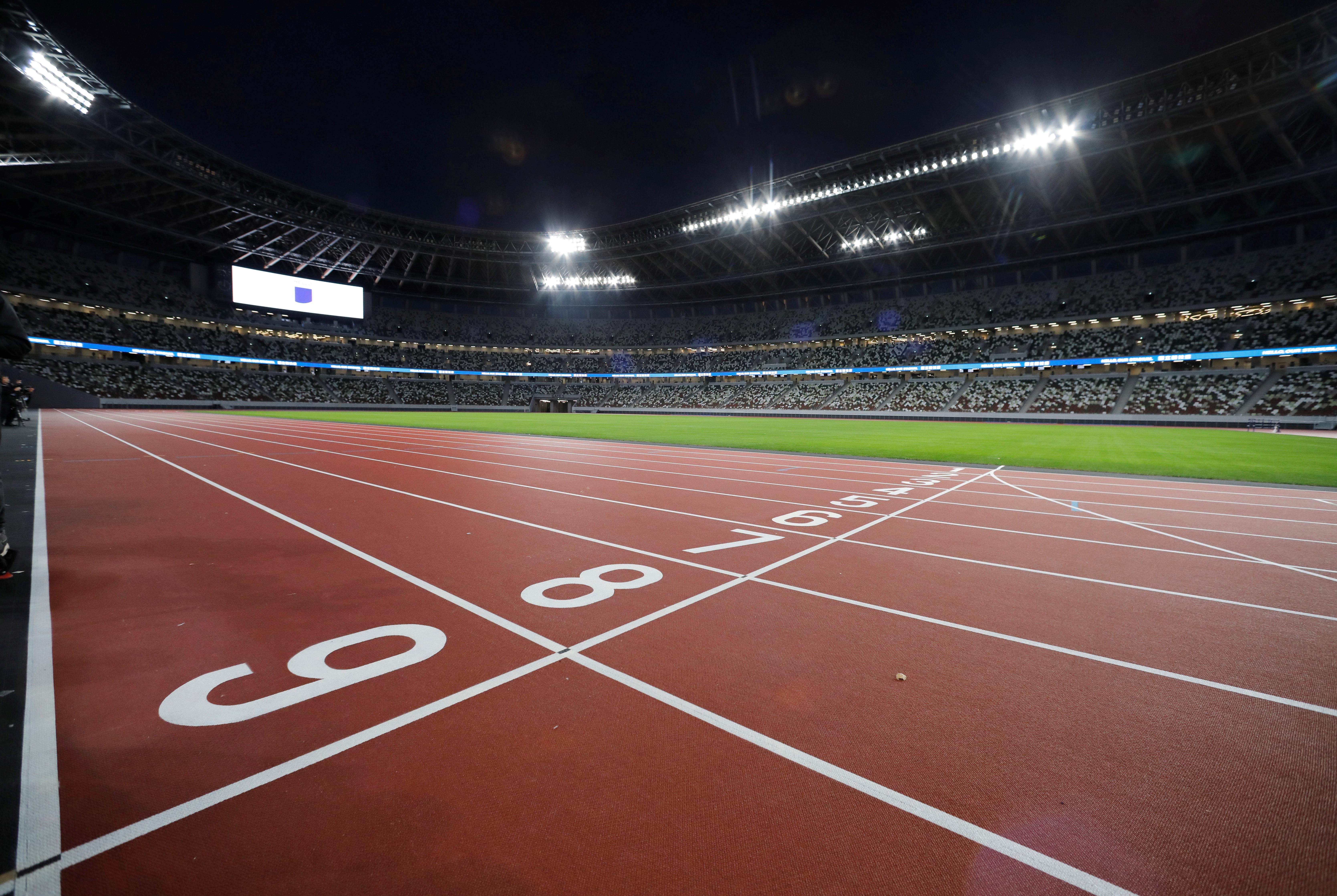 El edificio abarca una superficie de 72.400 metros cuadrados y tiene una capacidad para 68 mil espectadores