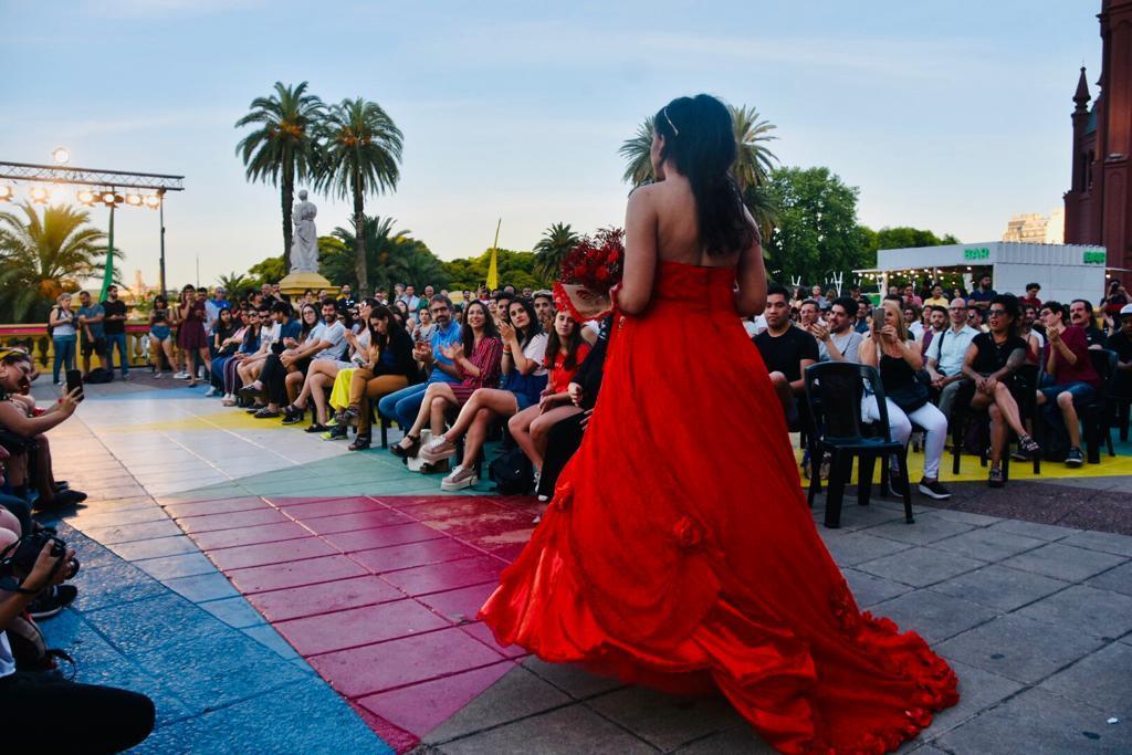 La apertura se llevó a cabo en la terraza del Centro Cultural Recoleta